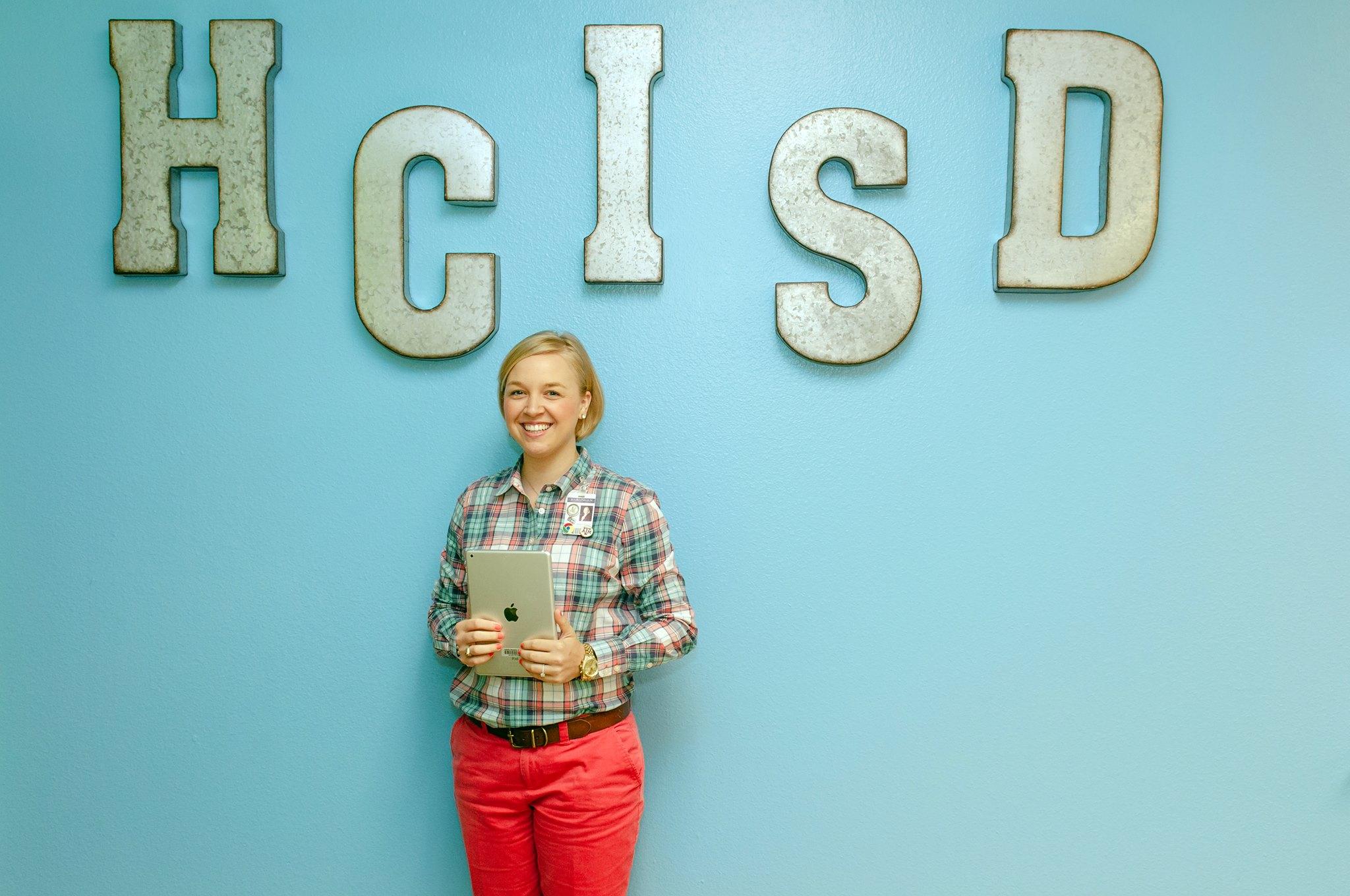 HCISD Instructional Technologist named Apple Distinguished Educator