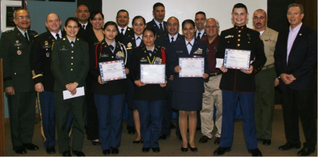"""Harlingen JROTC Students Win Top Awards at 8th Annual """"Way to Happiness"""" Scholarship Competition"""