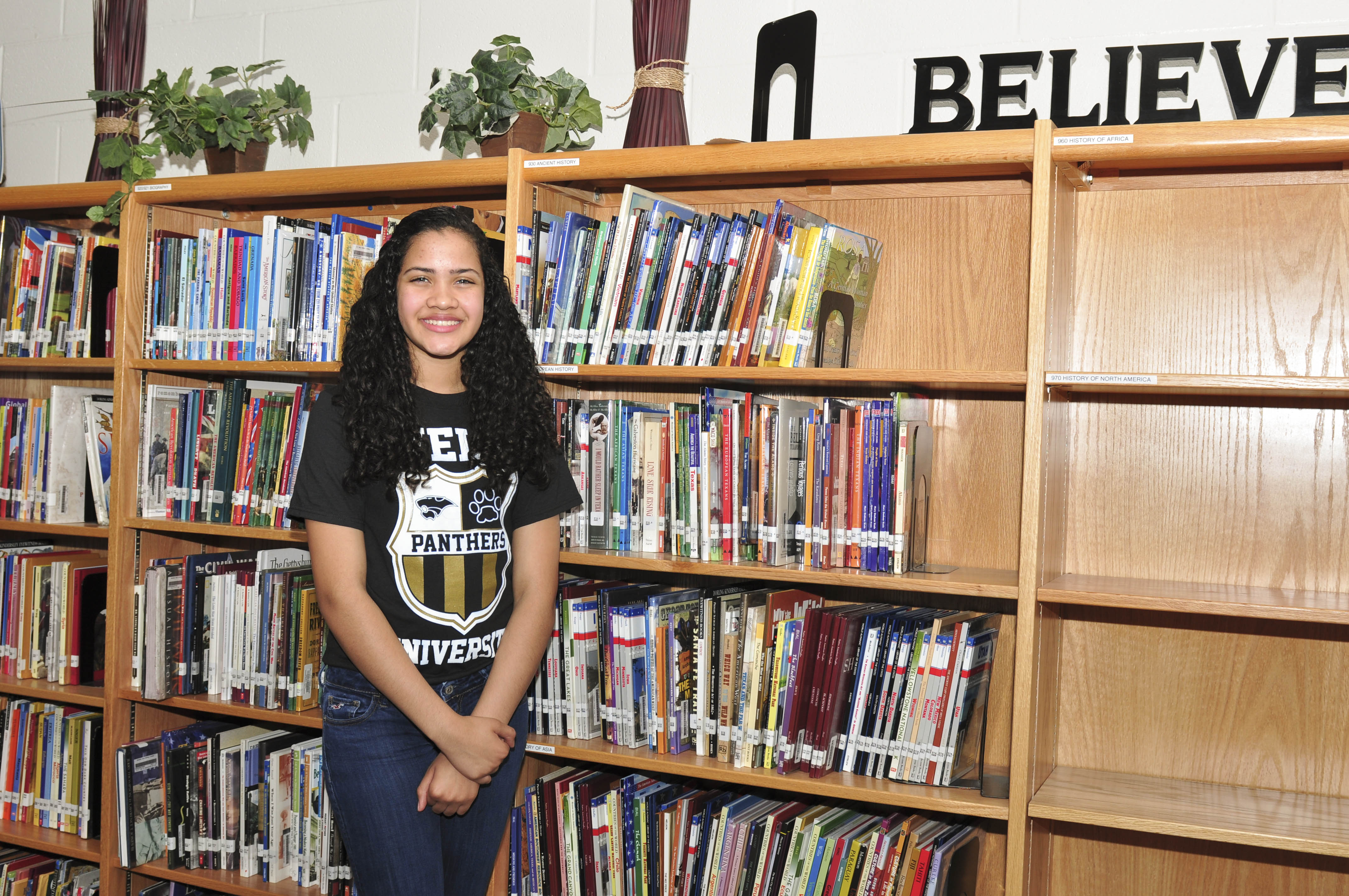 Student of the Week: Taking the stage