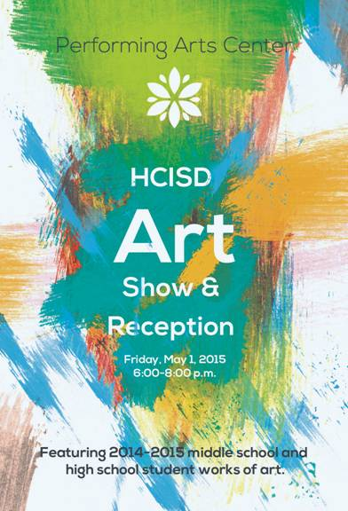 Community Invited to Attend HCISD Art Show