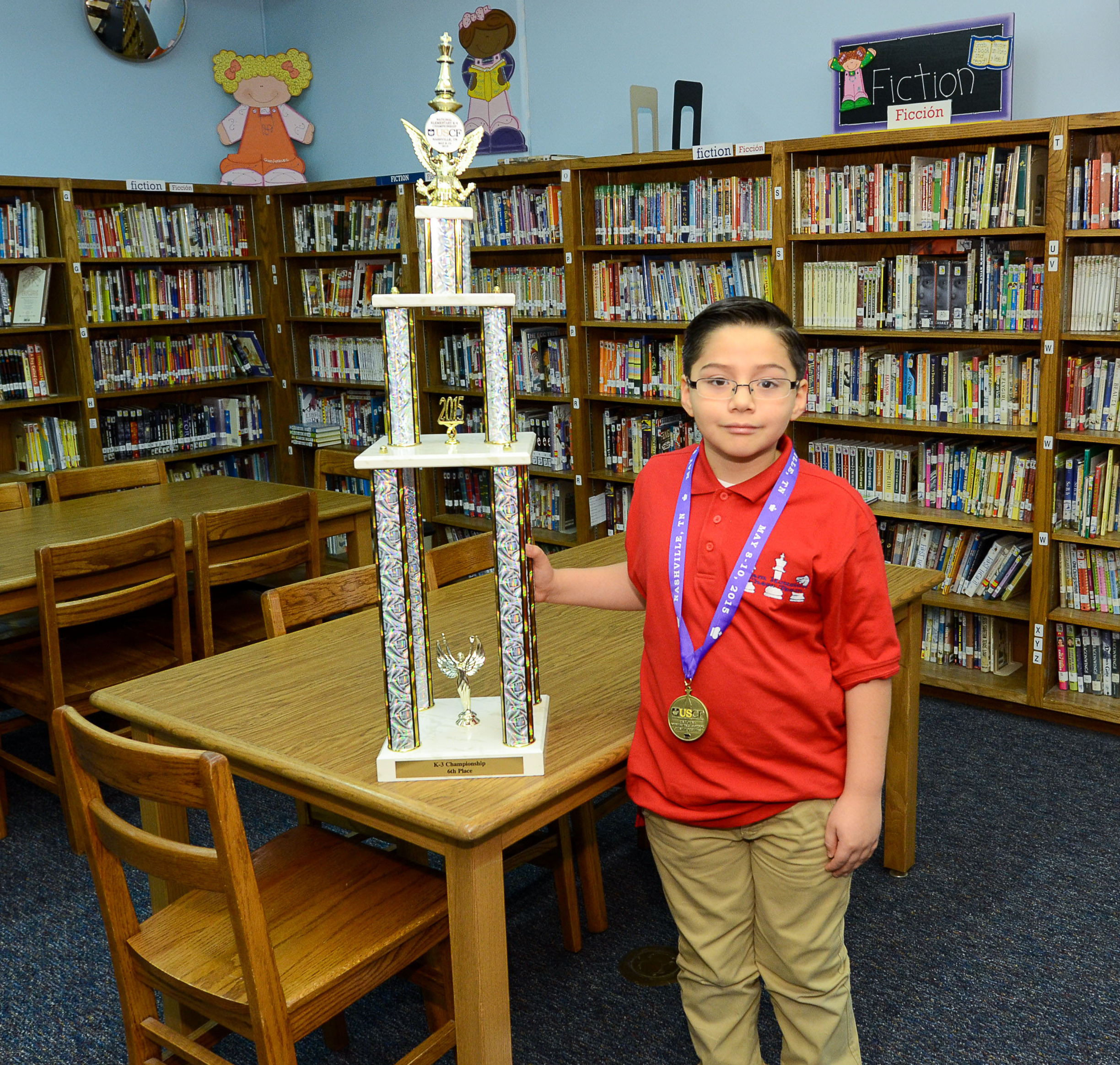 Sam Houston Eagle soars higher than ever at national chess competition