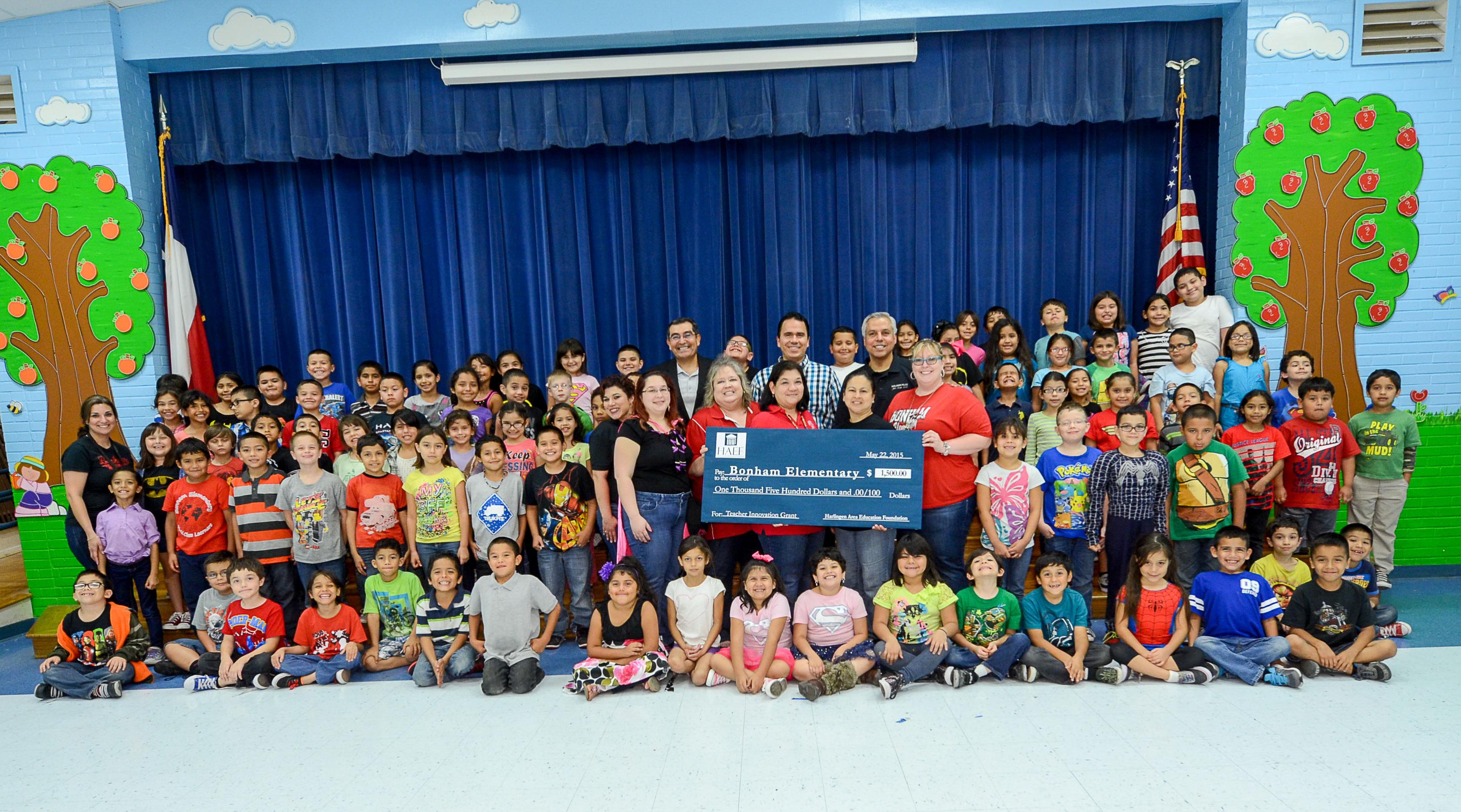 Bonham Second Grade team awarded Innovative Teaching Grant