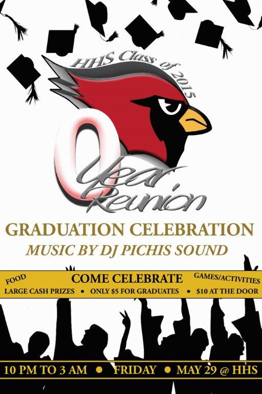 HCISD Seniors invited to Graduation Celebration 2015