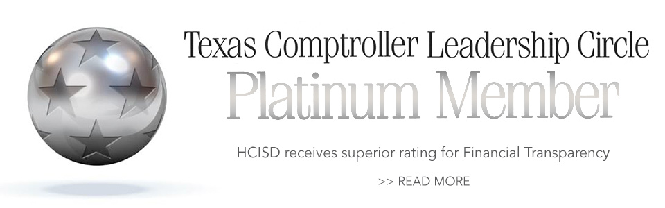 HCISD receives superior rating for Financial Transparency