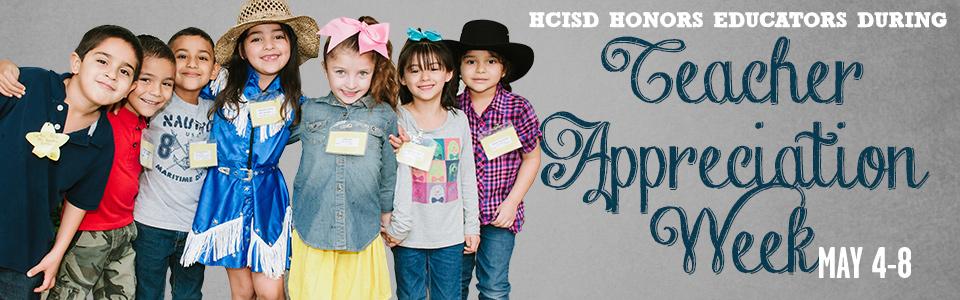 HCISD celebrates Teacher Appreciation Week 2015
