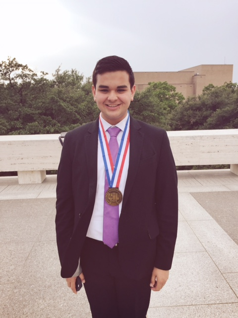 Harlingen South student named State Bronze Winner in Prose Interpretation