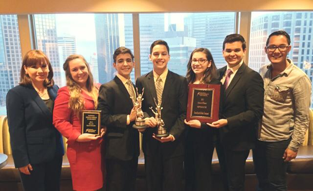 Harlingen South Speech, Drama, and Debate team shines at nationals