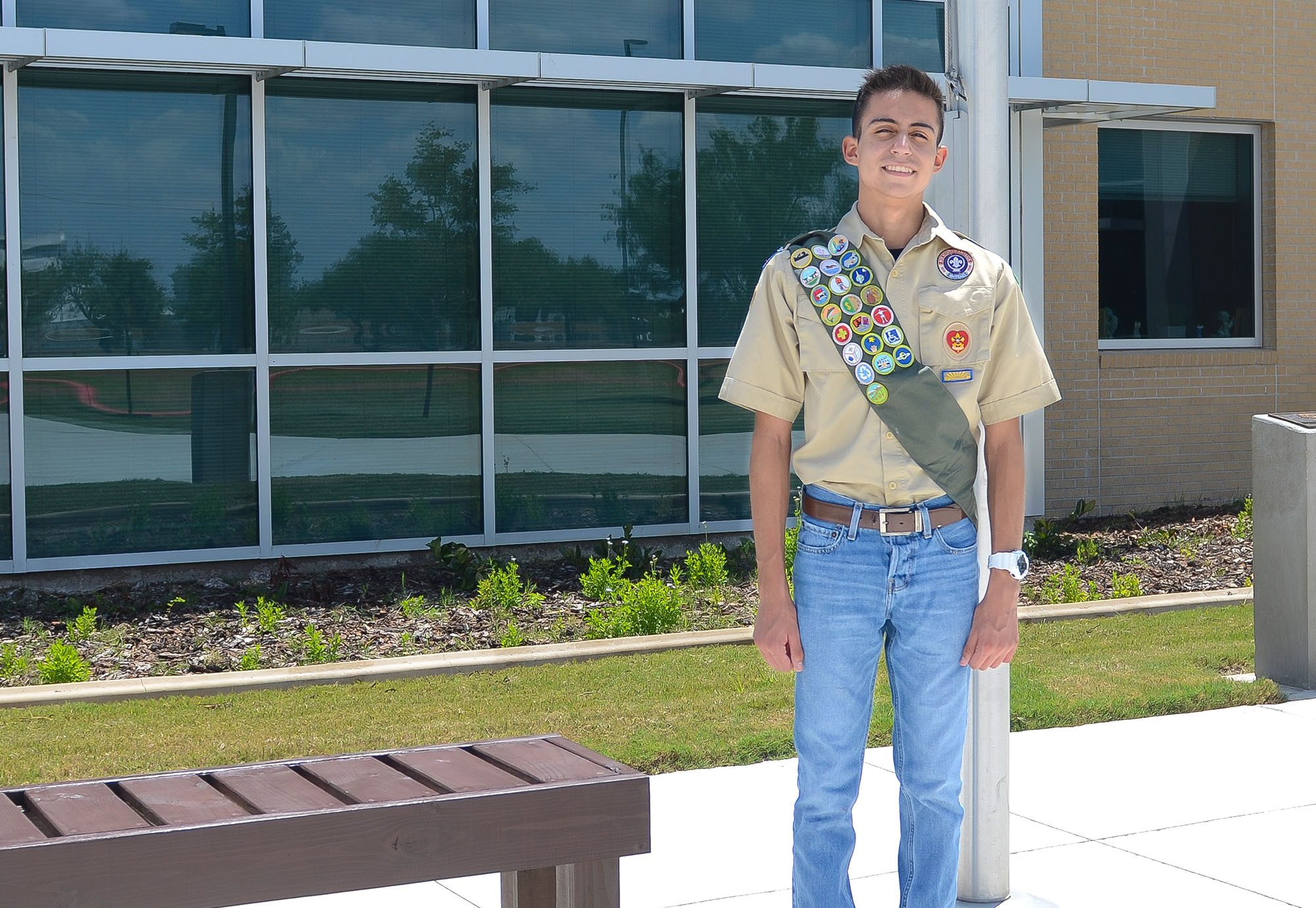 Eagle Scouts in the making: Brothers wrap up service projects at HHS and Cano
