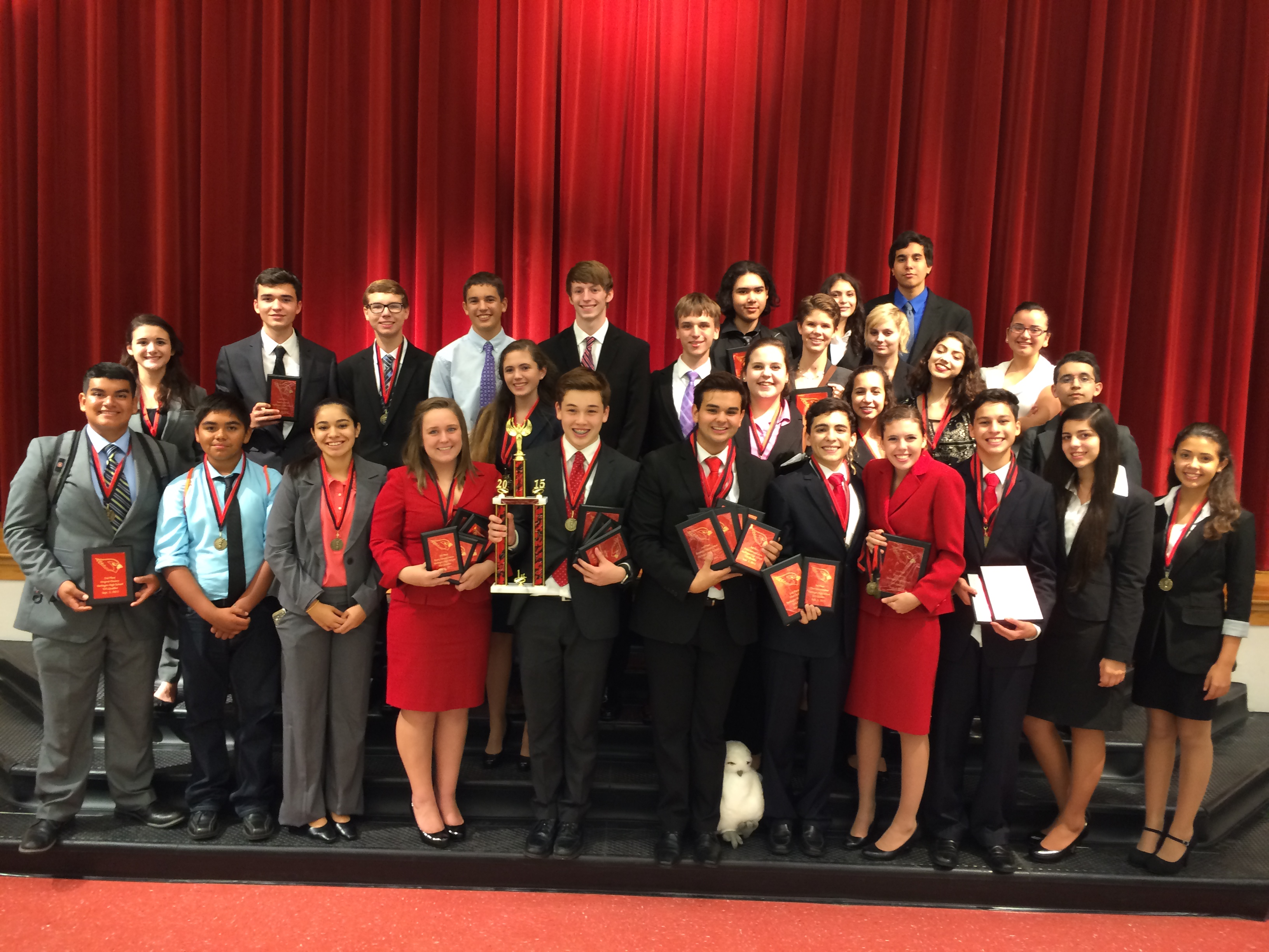 Harlingen South Speech, Drama, and Debate team takes sweepstakes in season's first TFA qualifying tournament