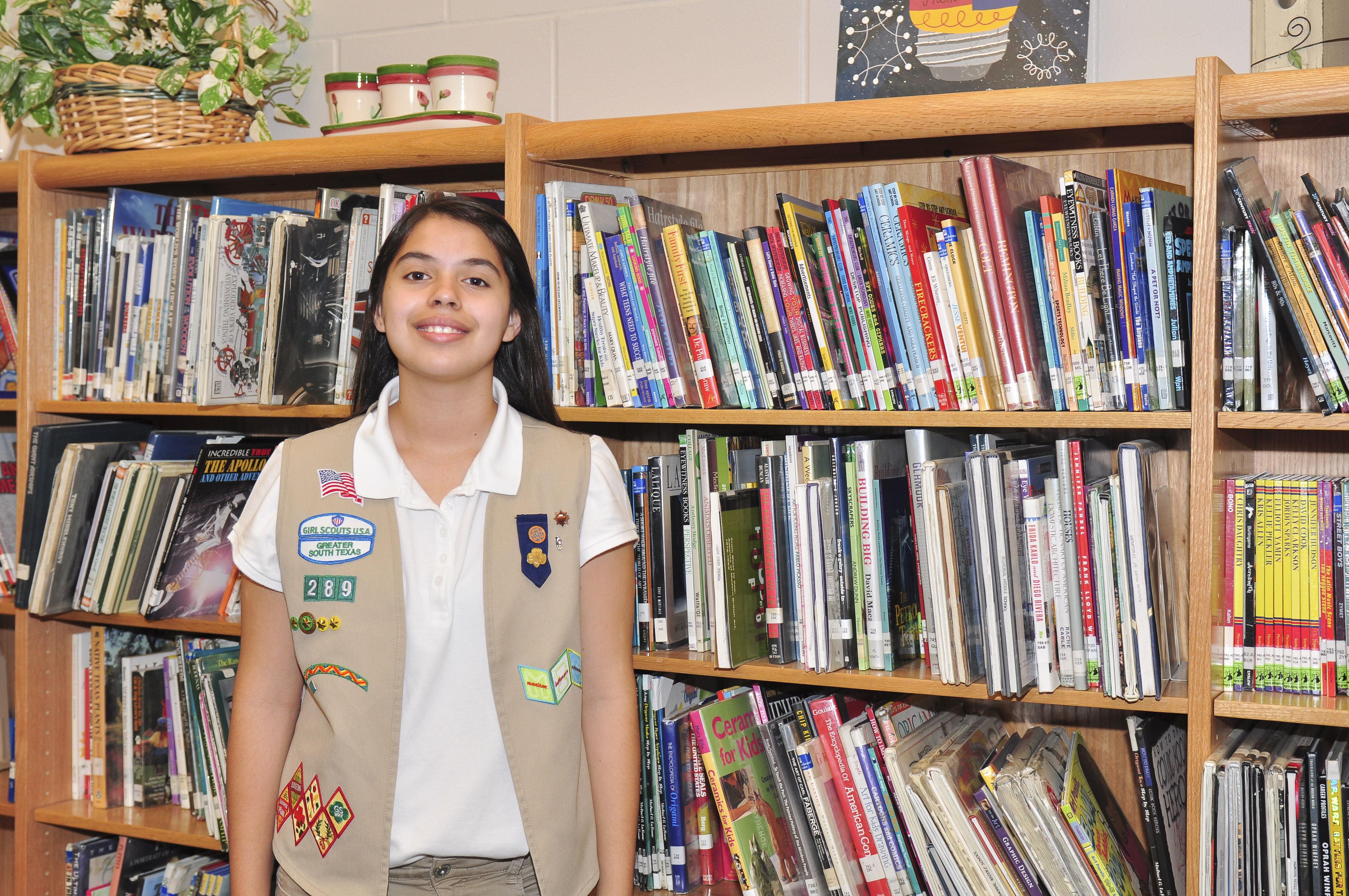 MMS student collects over 500 books for Boys & Girls Club of Harlingen