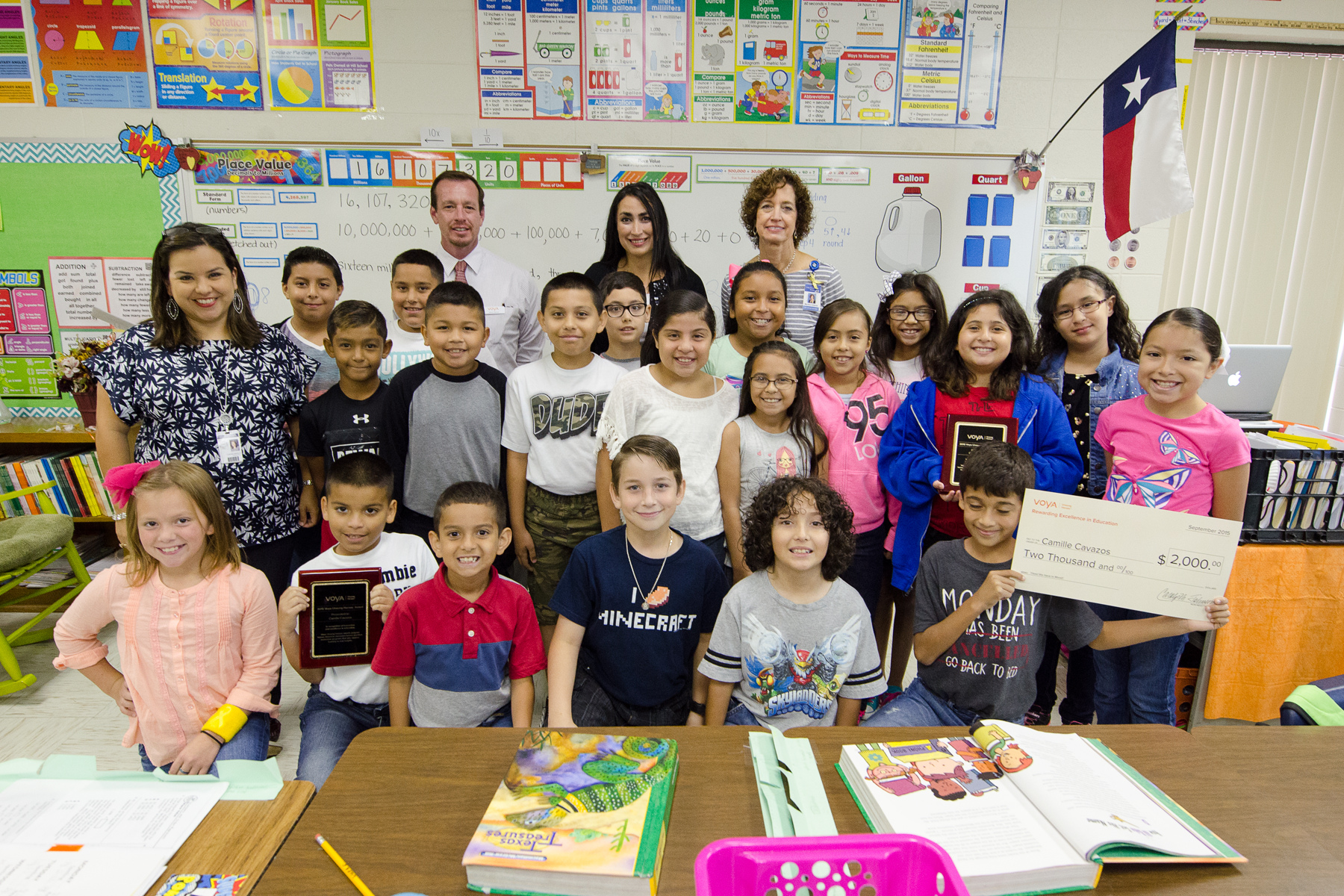 Long Elementary teacher awarded $2,000 grant for innovative teaching