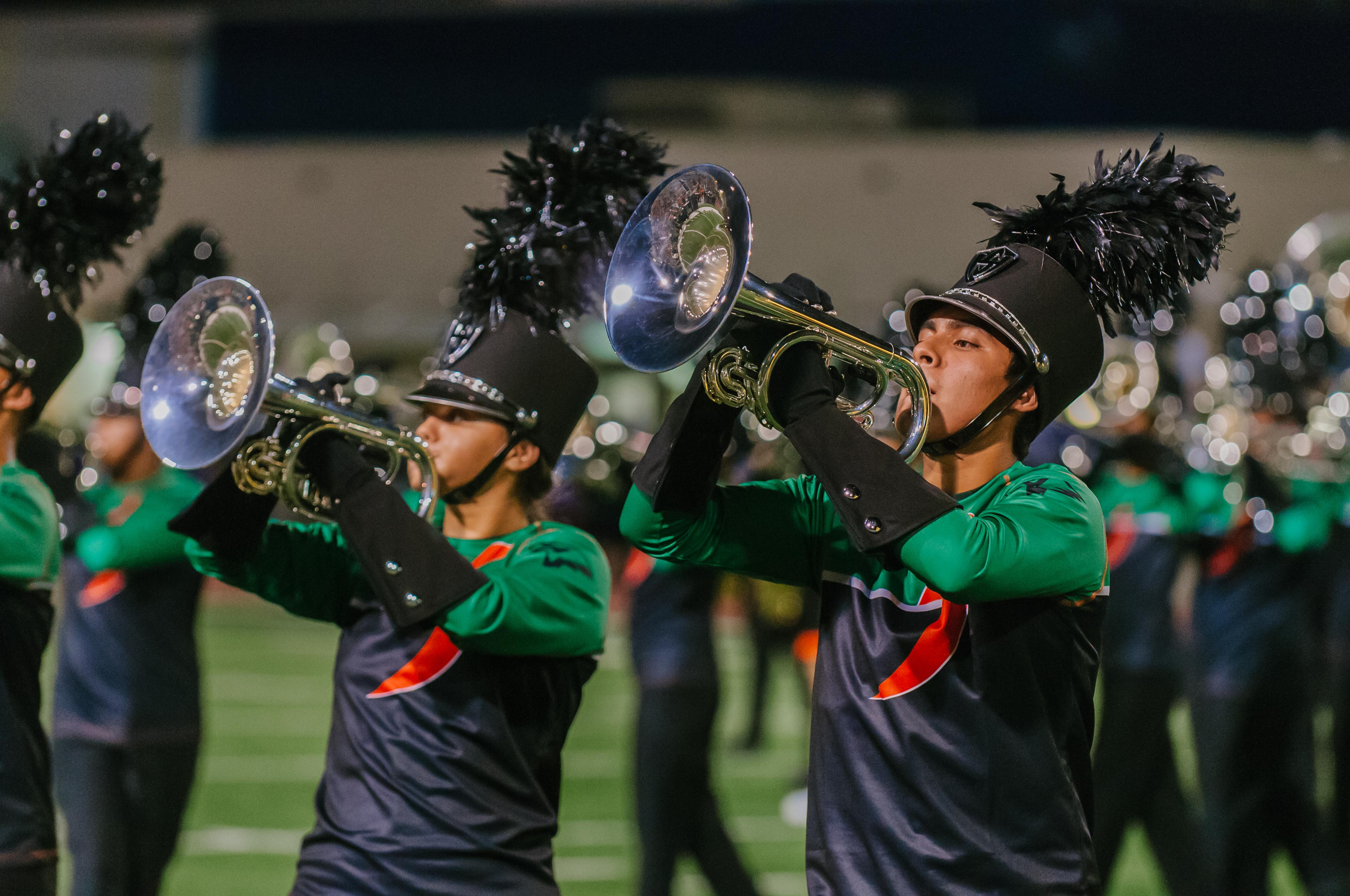 Marching bands take Grand Champion titles at La Joya and Rio Hondo contests