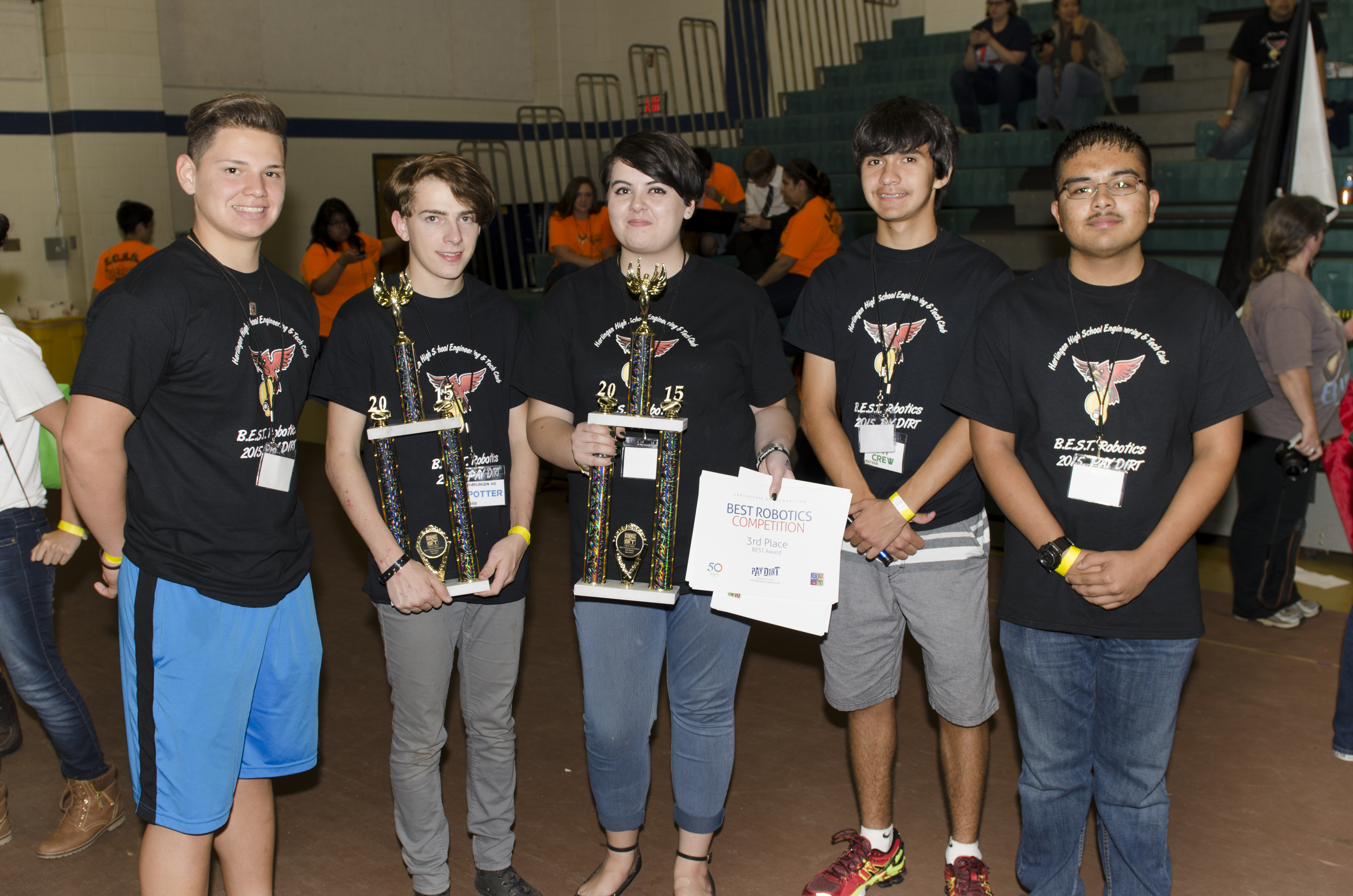 HHS advances to regional robotics competition
