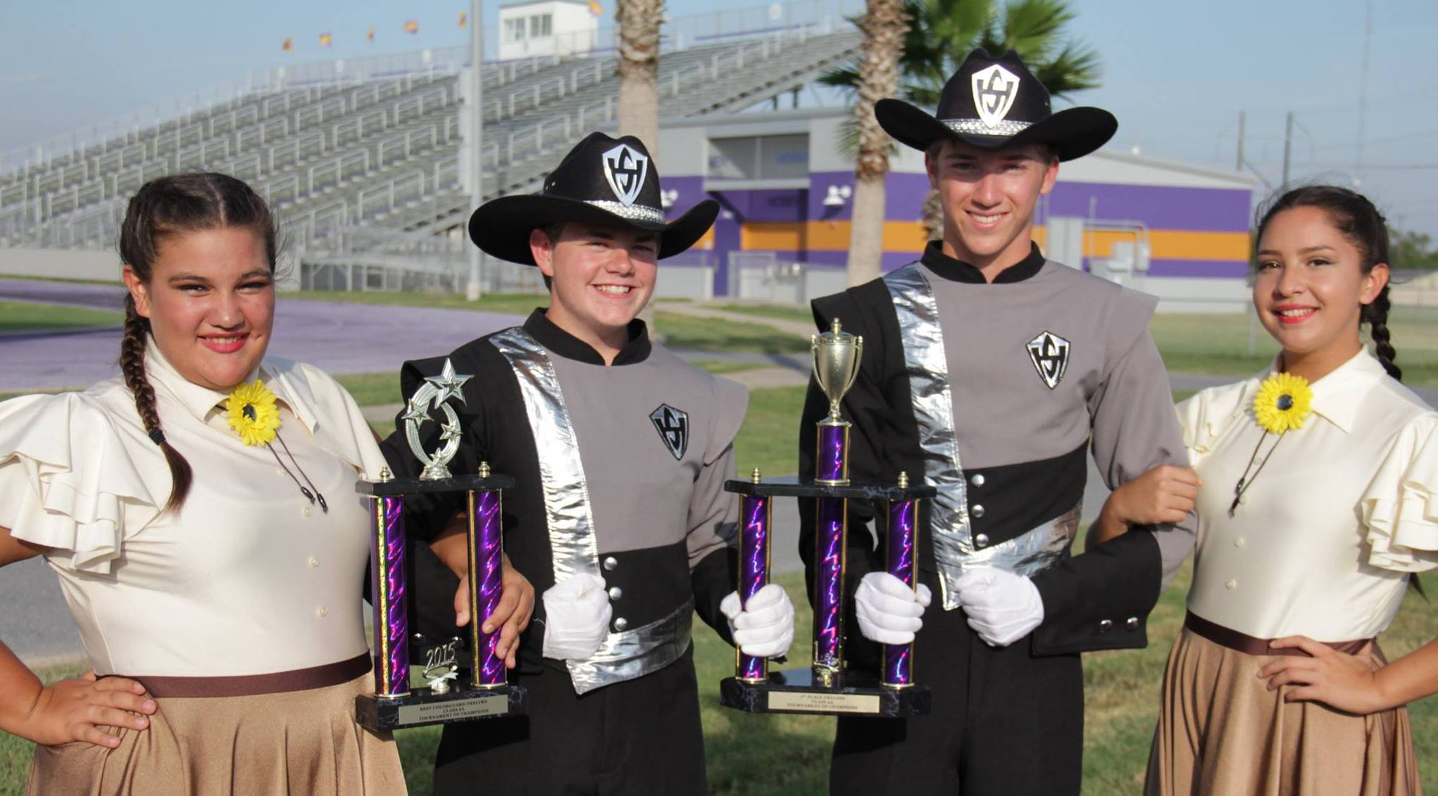 Big Red Cardinal Band and Mighty Hawk Band: Grand Champions for second week in a row