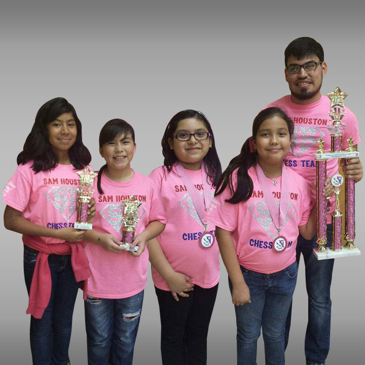 Houston Girls' Chess Team completes '3-peat' in state championship