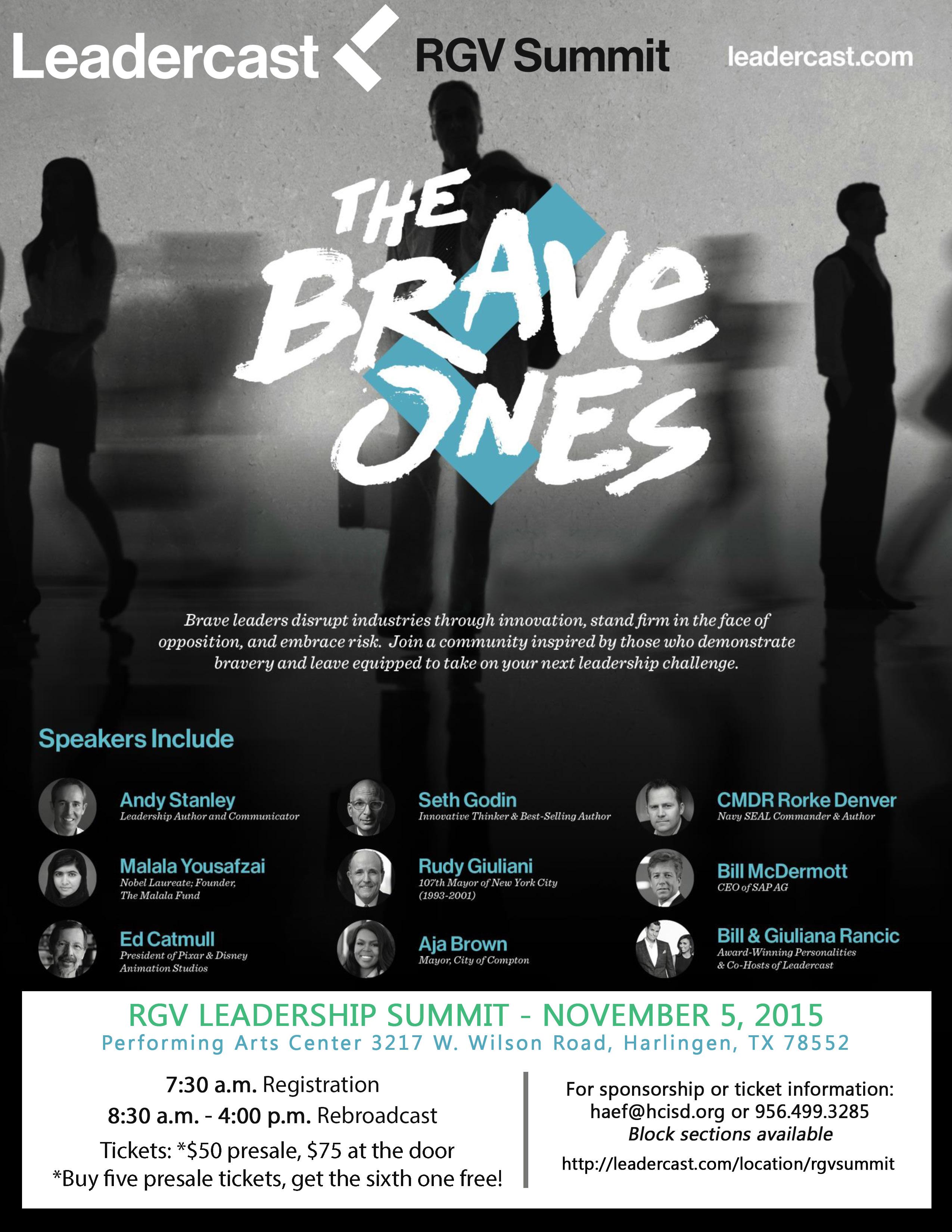 Community invited to RGV Leadercast Summit