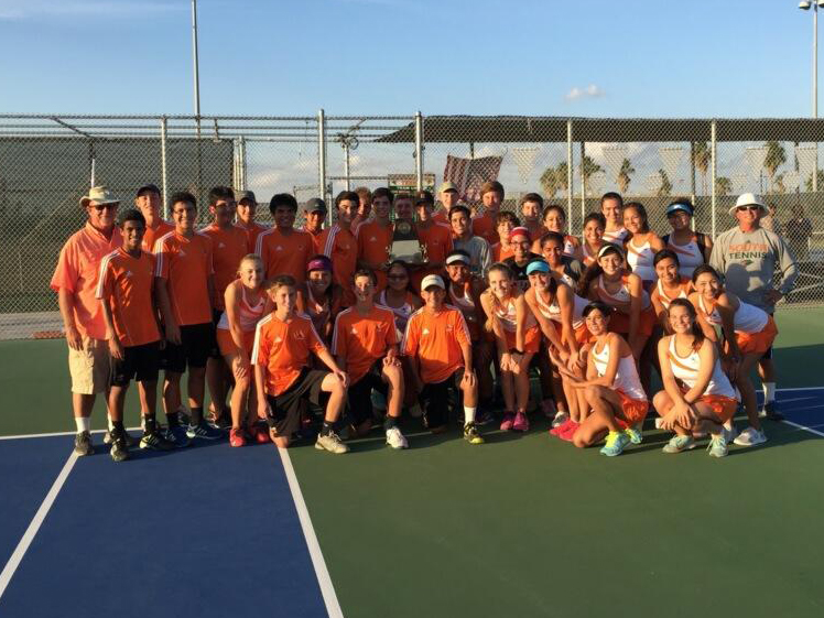 Hawk and Cardinal Tennis Teams advance to regional tournament