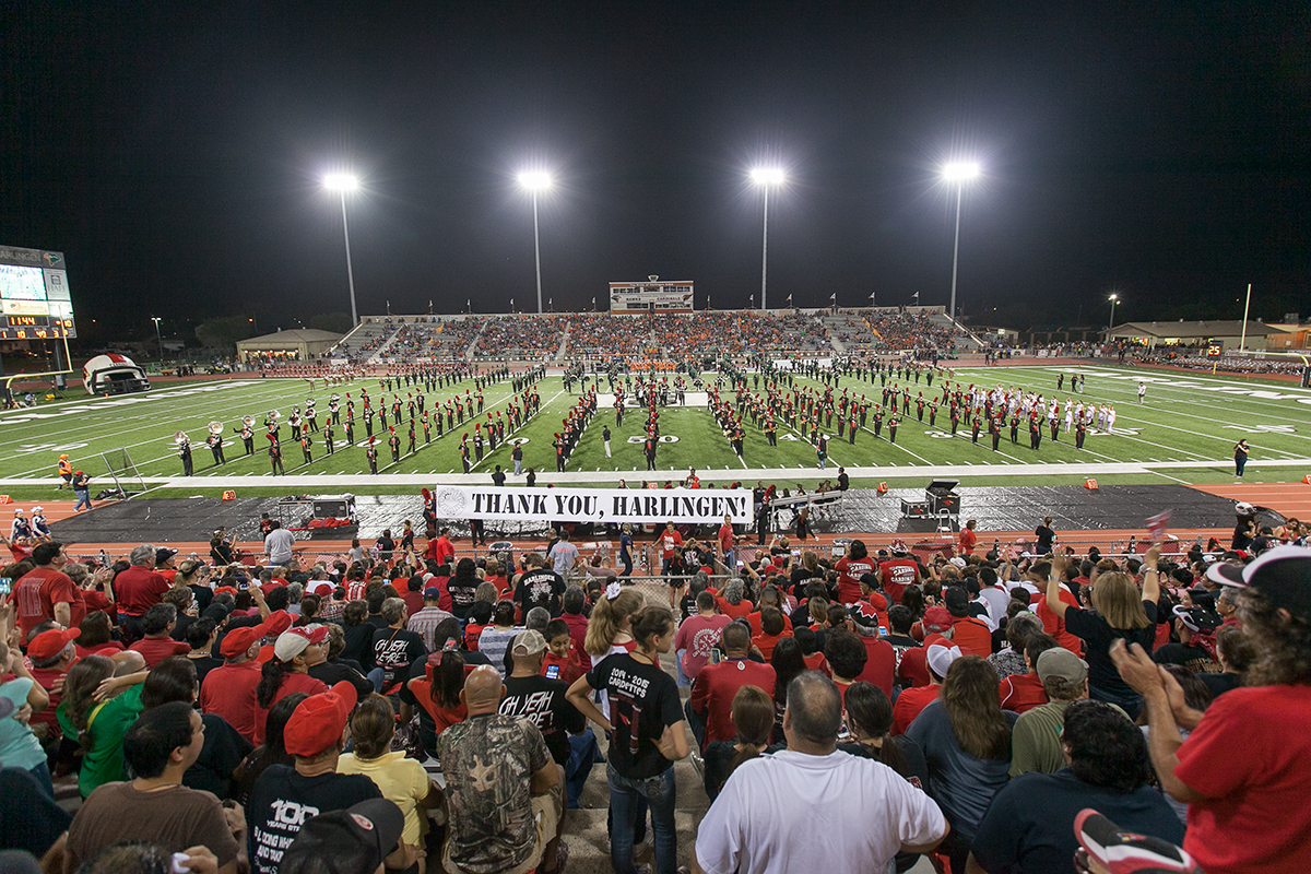 HCISD Bands: Thank you Harlingen