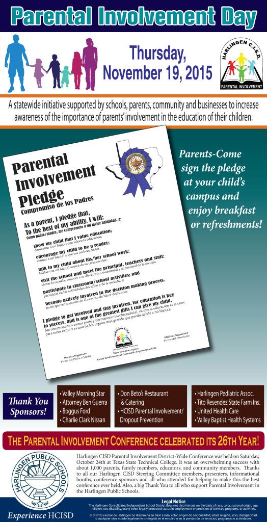 Harlingen CISD - Parental Involvement Day - 6x20 - 11-11-2015