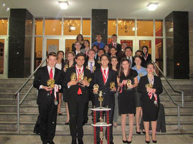 Speech, Drama, and Debate teams earn top honors in Corpus Christi tournament