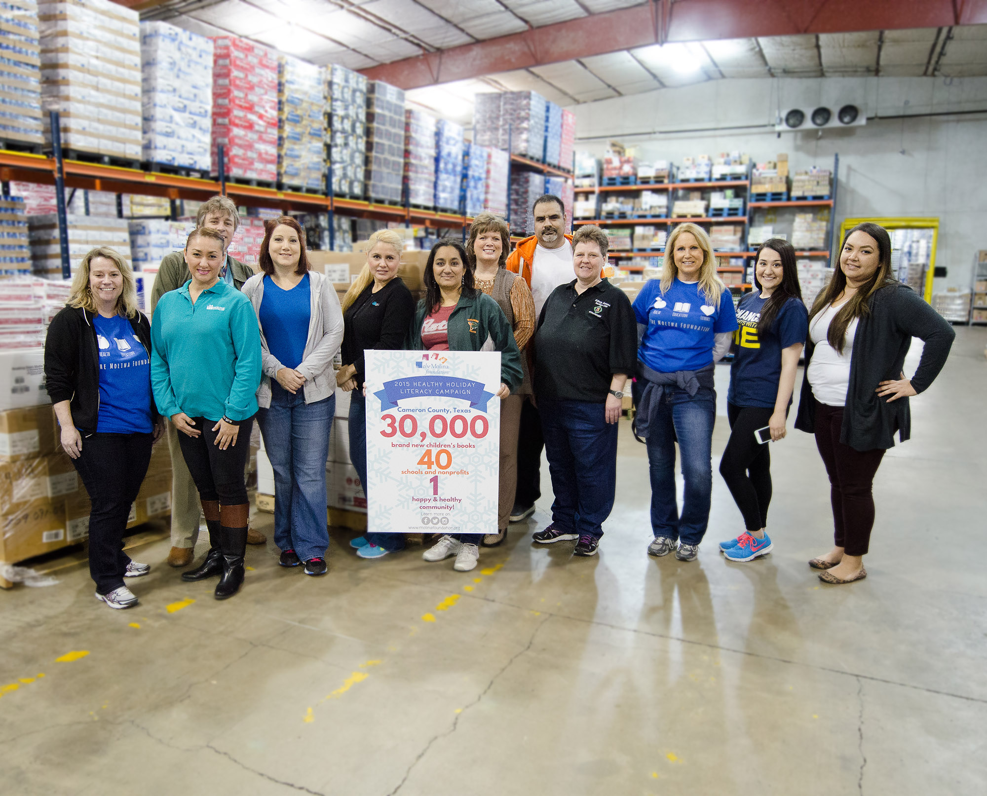 Literacy campaign distributes 35,000 books to HCISD and area schools