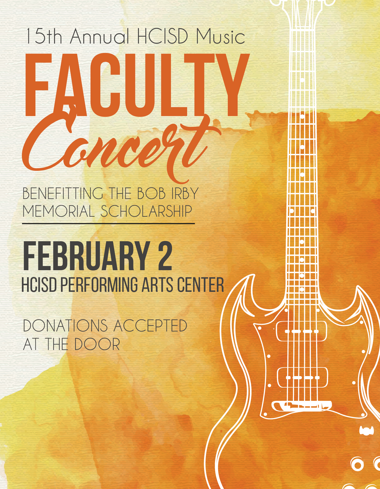 Community invited to attend 15th Annual Faculty Concert