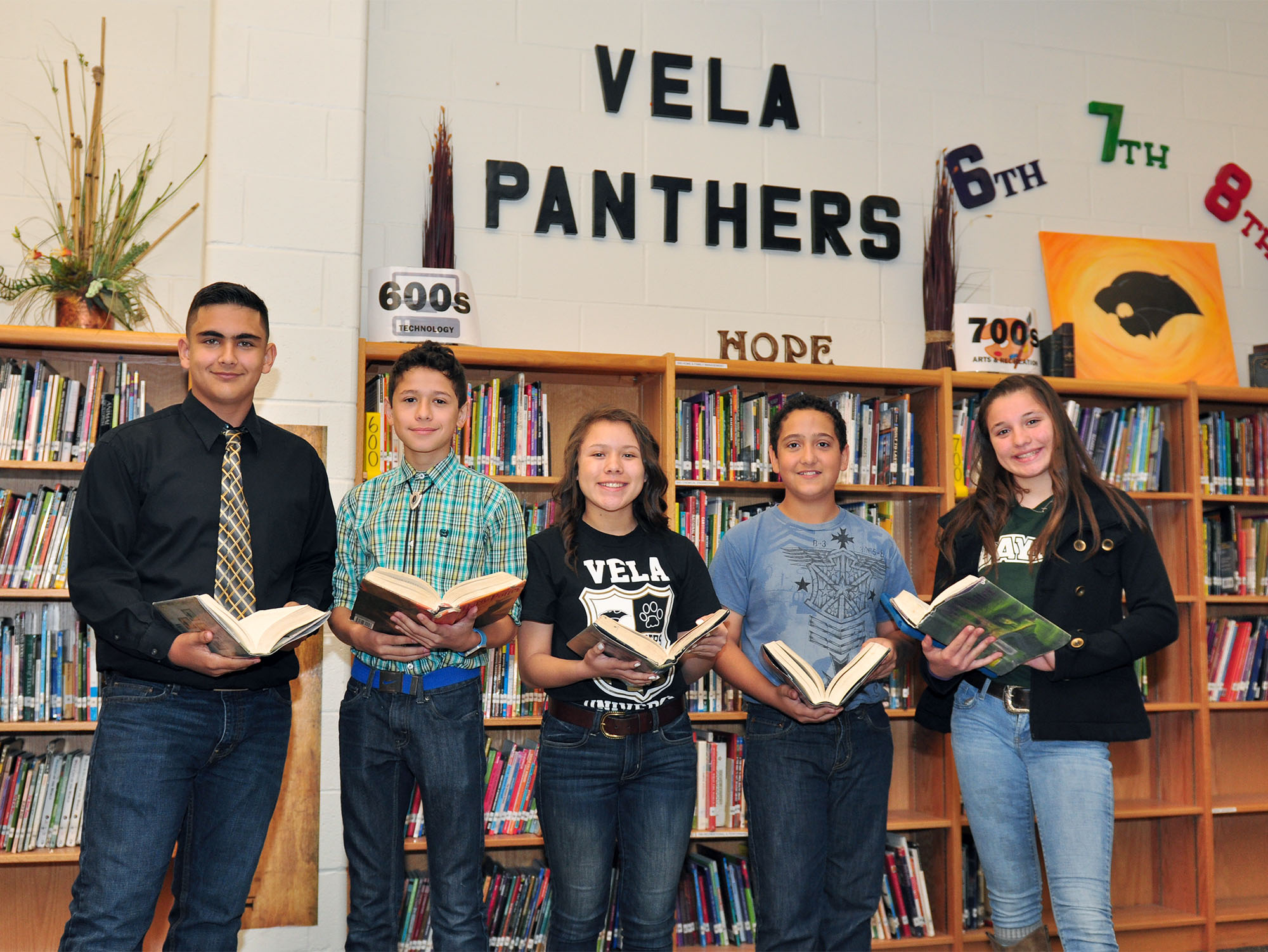 Making the Grade: Vela gets students excited about college and careers