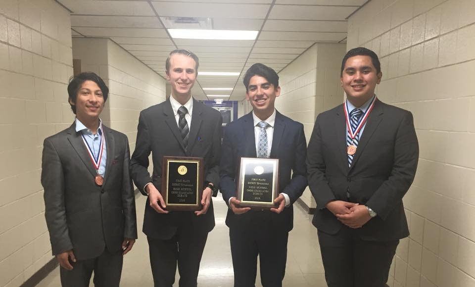 HHS named District Champion in Cross Examination Debate
