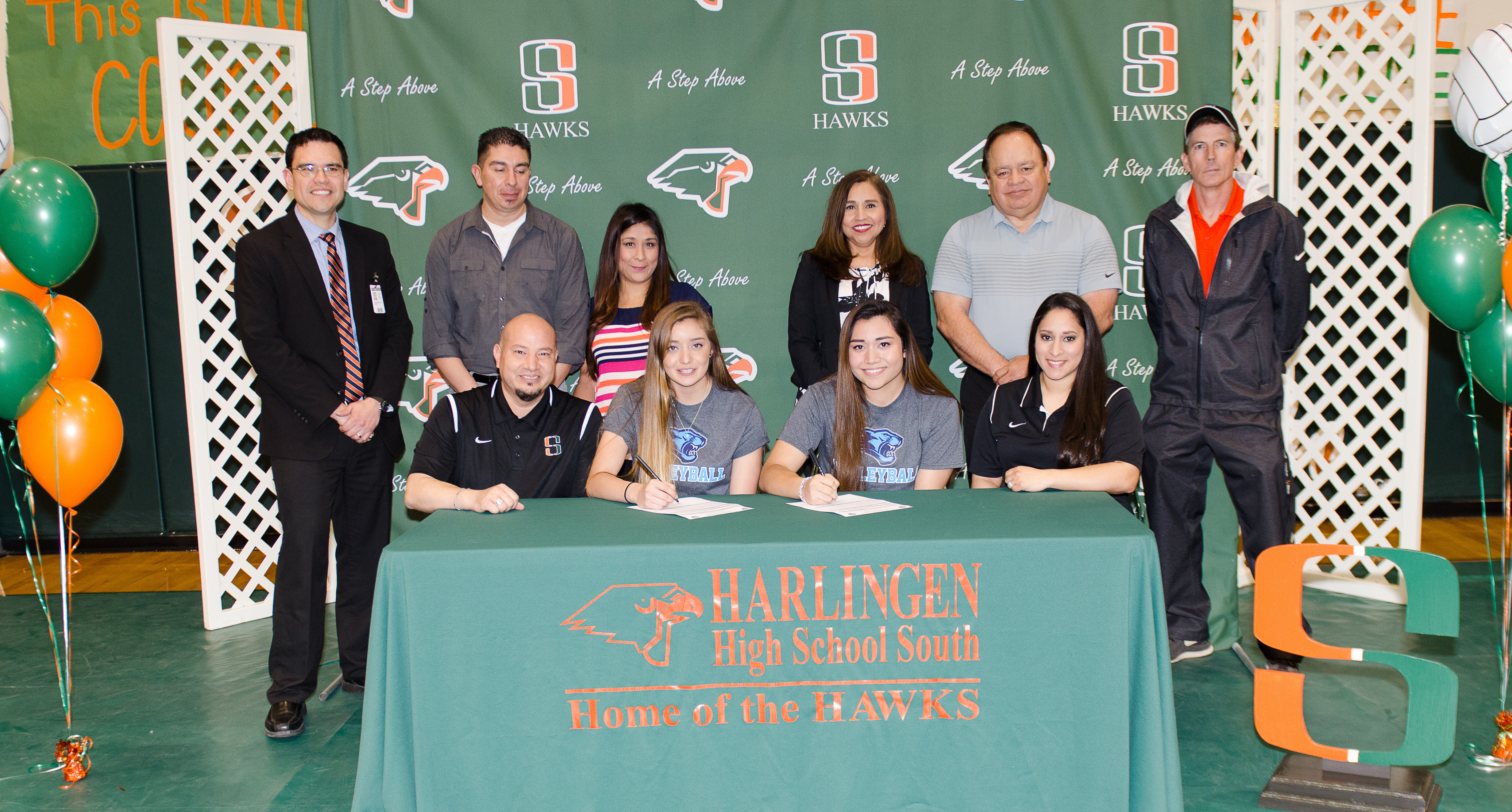 South athletes sign to play college volleyball