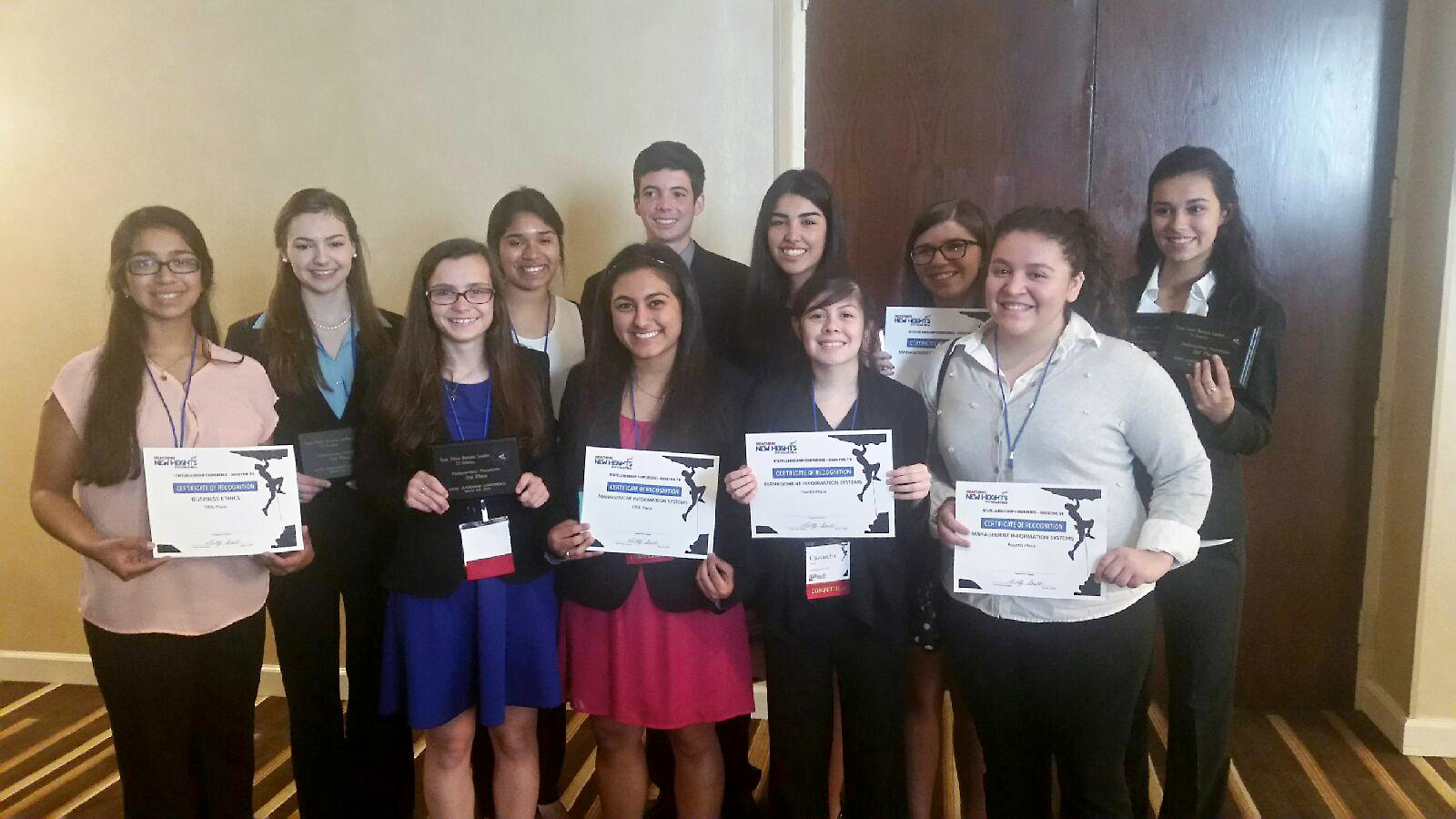 12 South competitors advance to FBLA National Leadership Conference