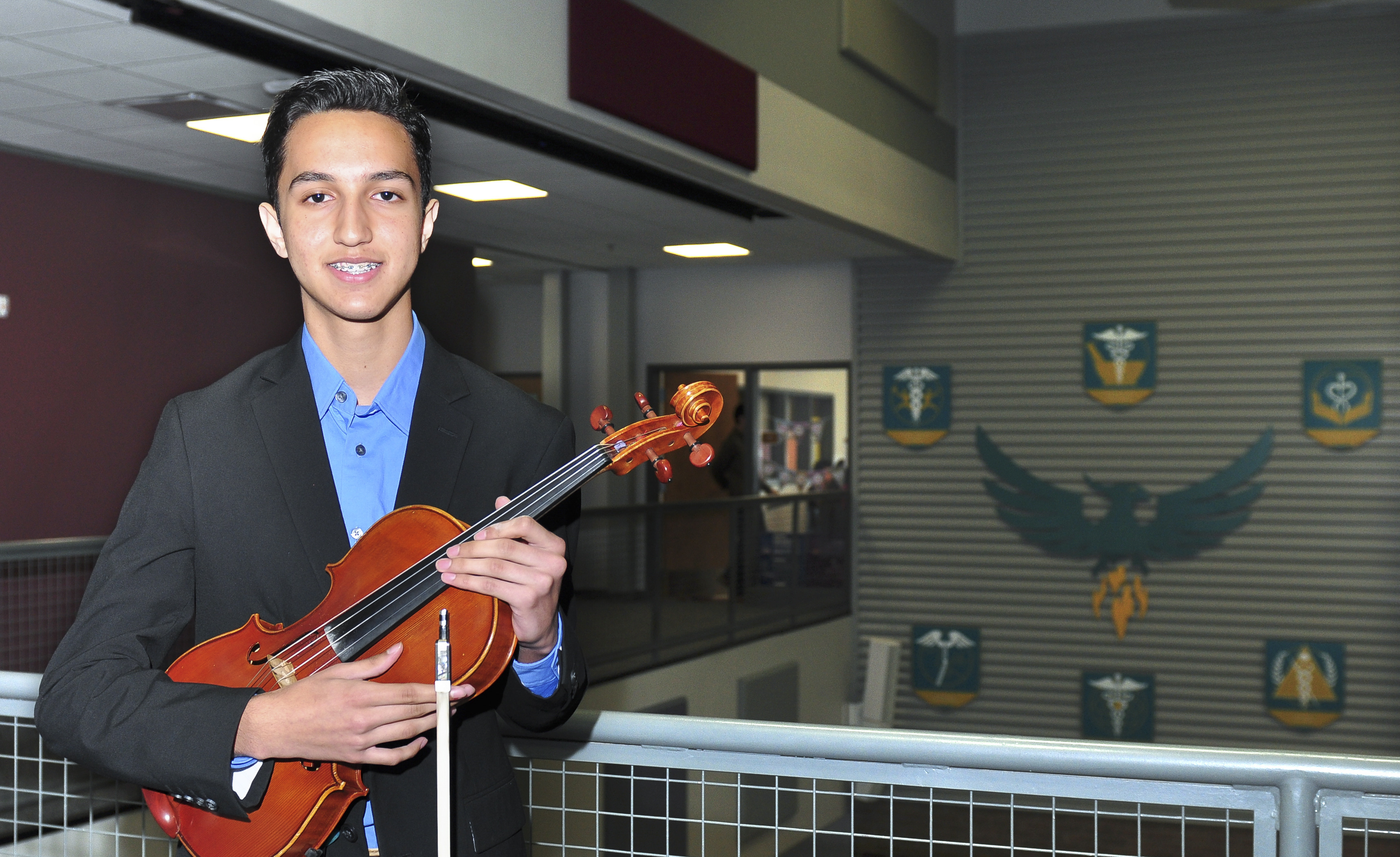 HSHP freshman chosen for Carnegie Hall's NYO2 program