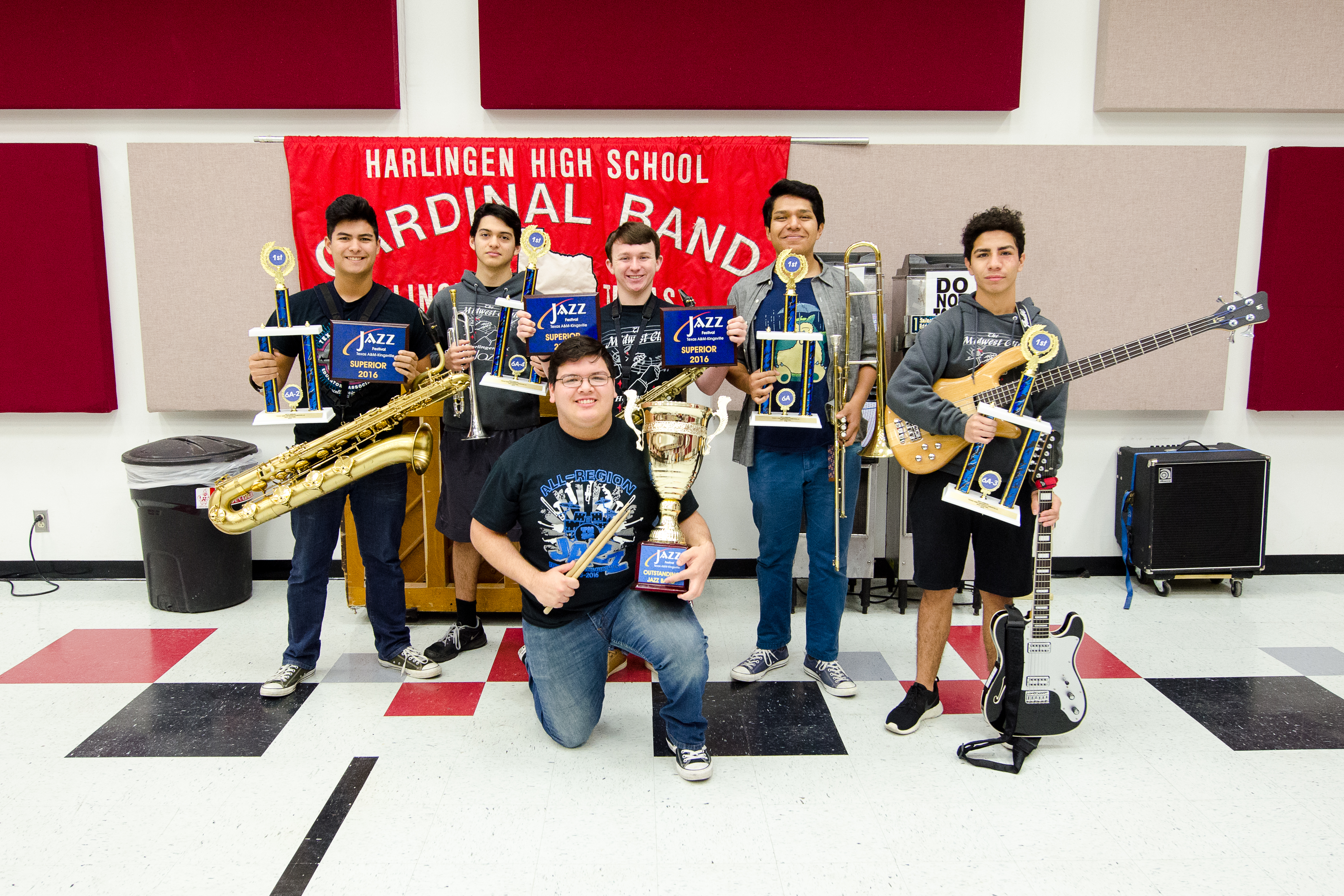 HS Jazz Bands take top honors at 49th Annual TAMUK Jazz Festival