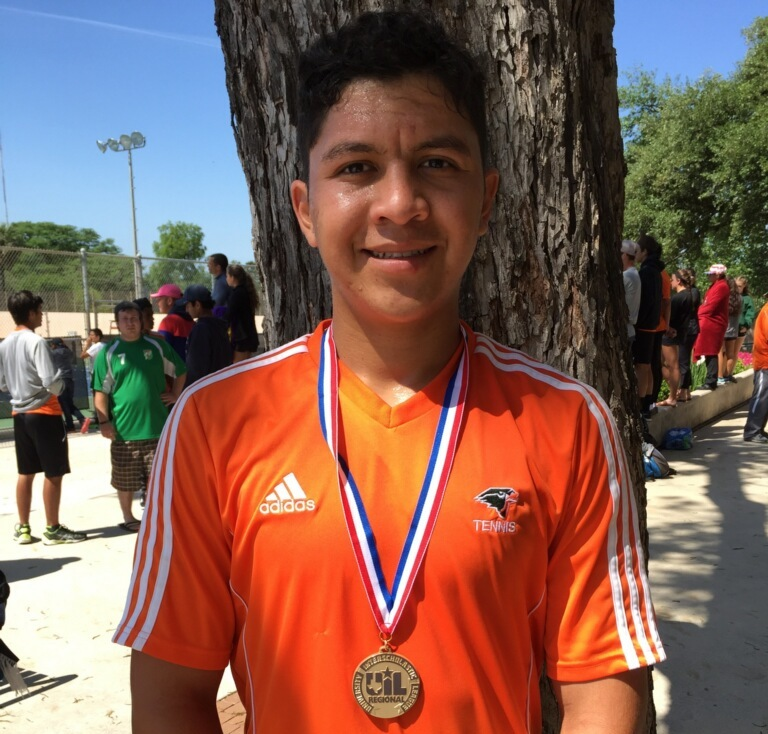 Harlingen South student wins second consecutive Regional Tennis Championship