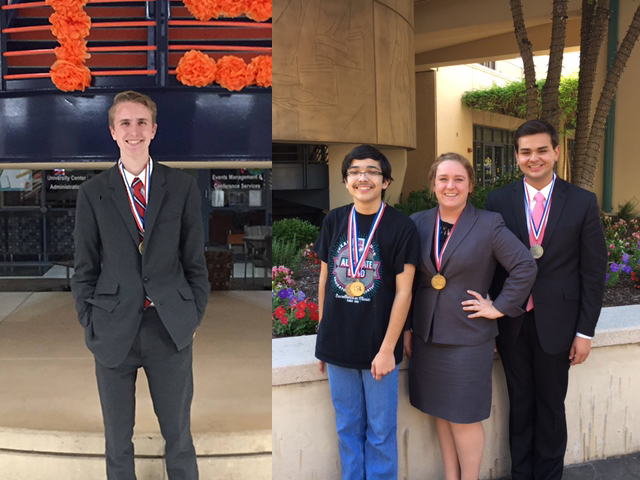 HS students advance to Academic State Meet