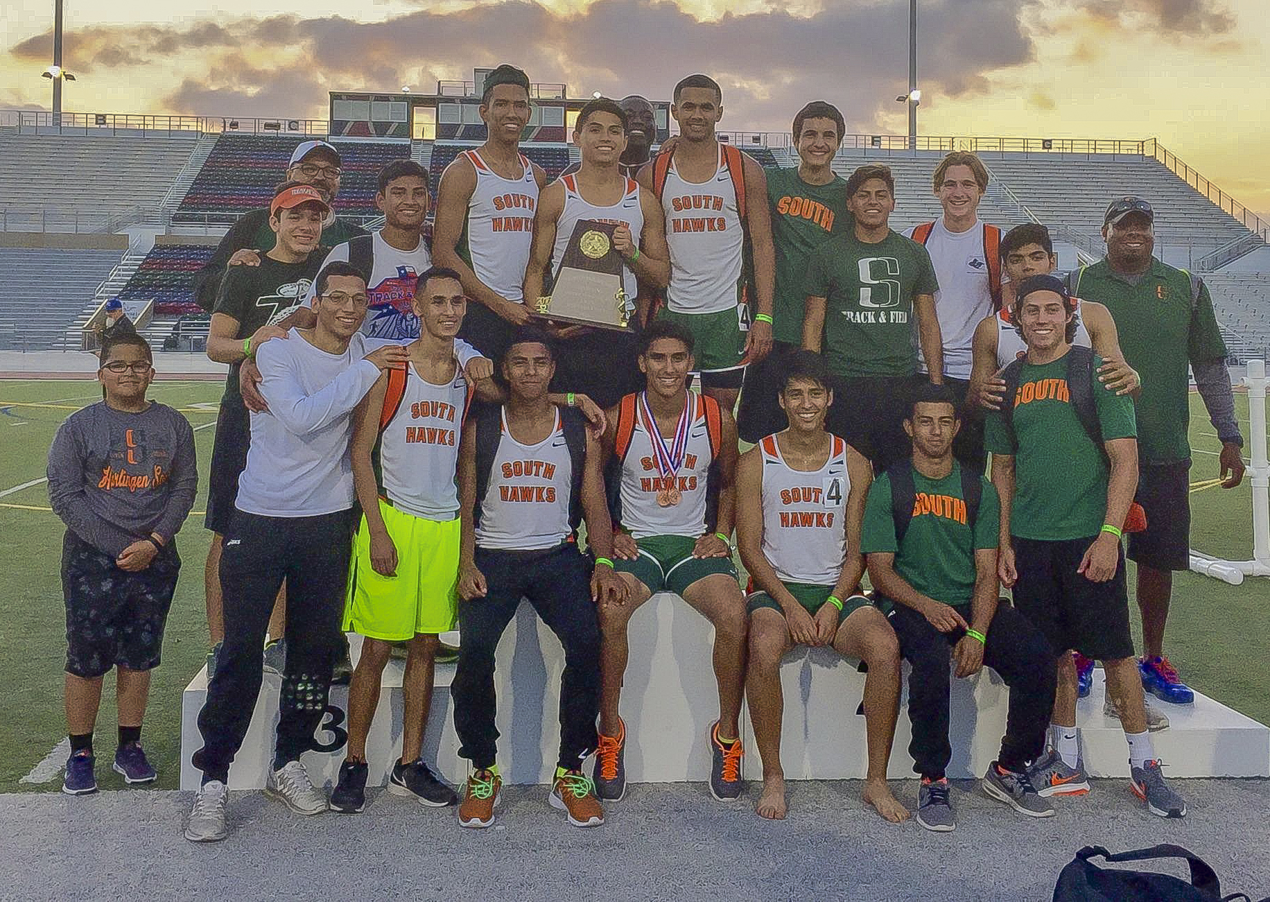 Harlingen South Boys Track and Field Team named Area Champs, Regional qualifiers announced