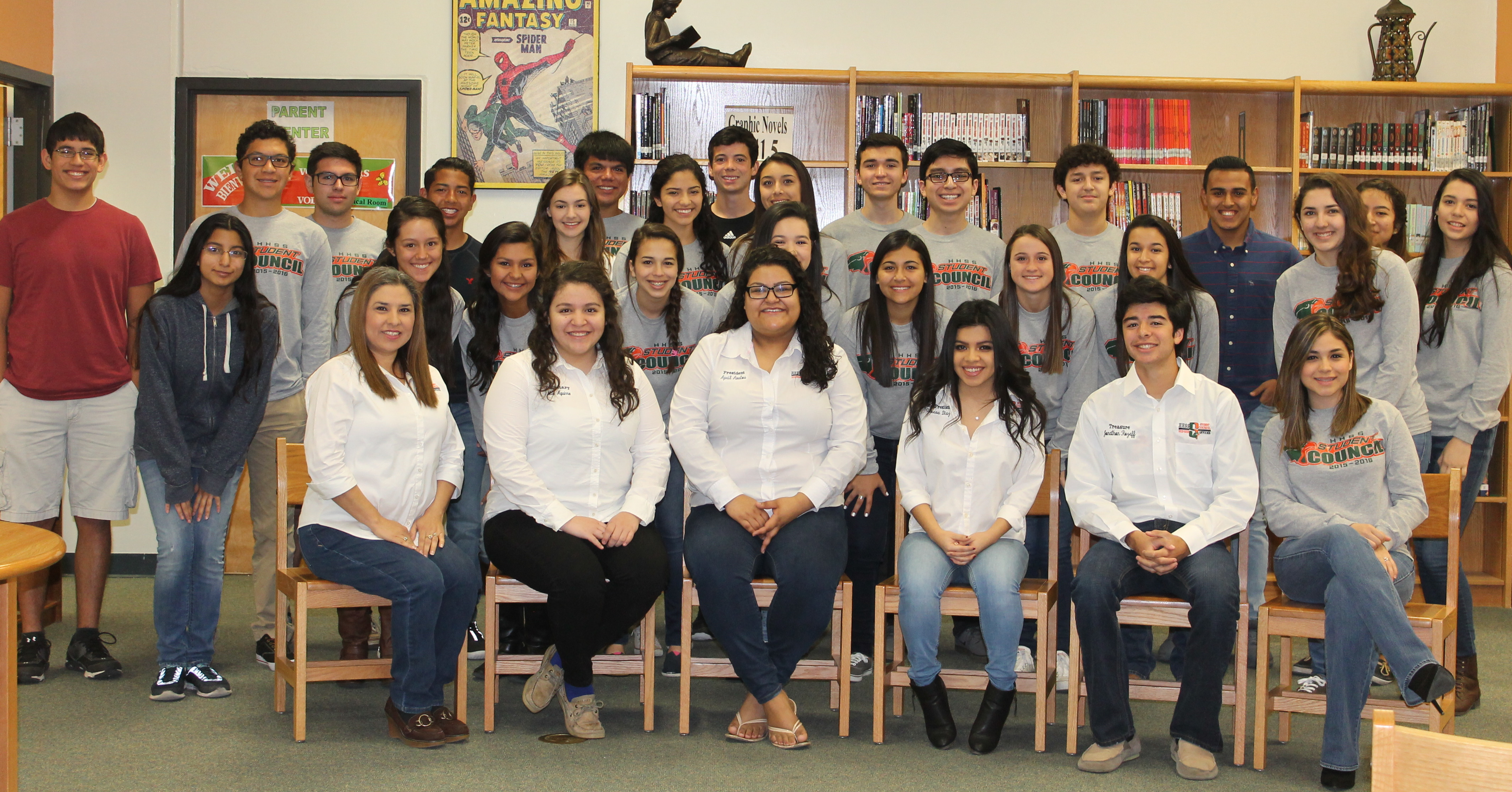 Harlingen South Student Council receives nationwide recognition from NASC