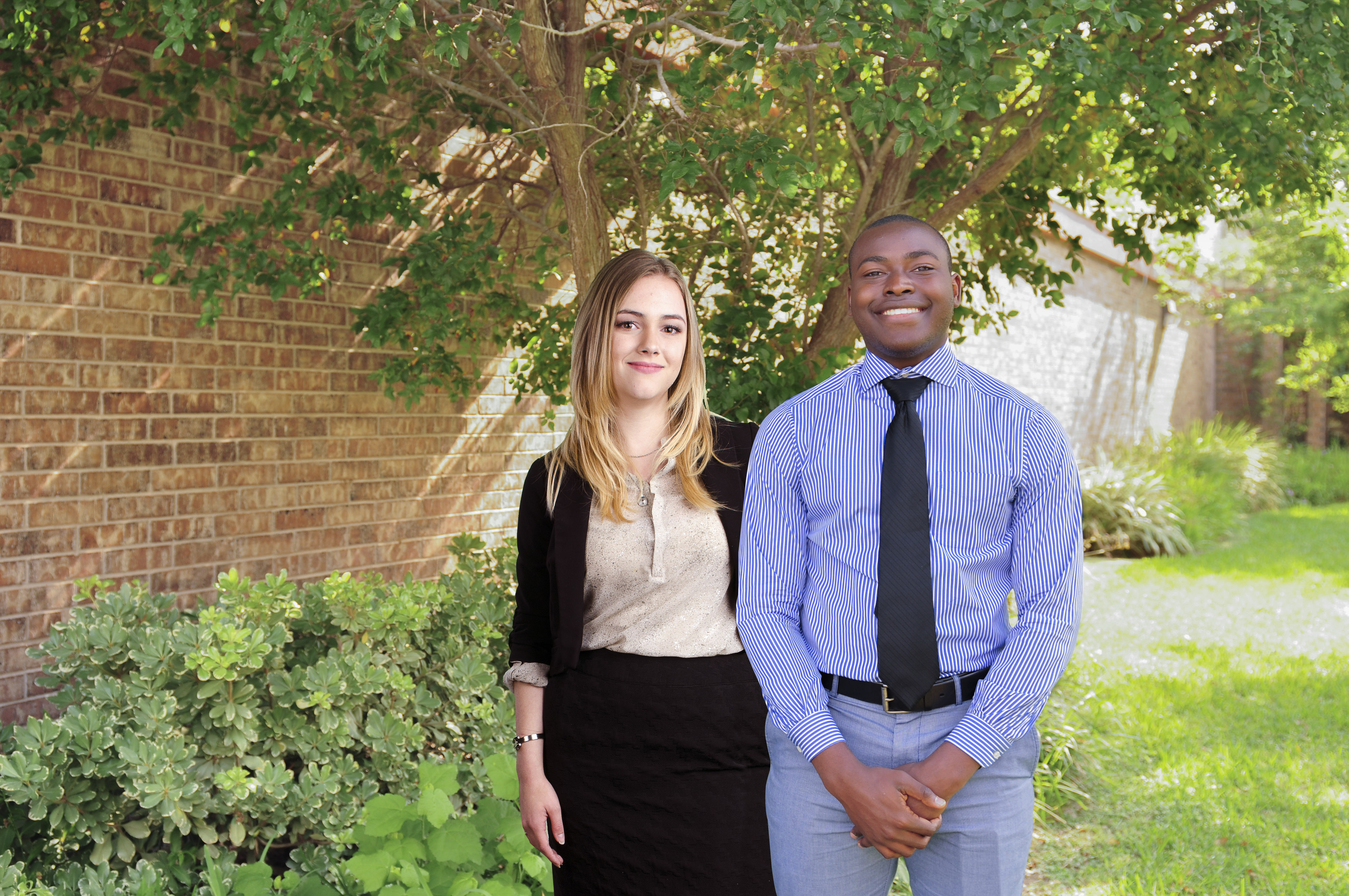 Two HCISD high school seniors selected as Terry Scholarship recipients