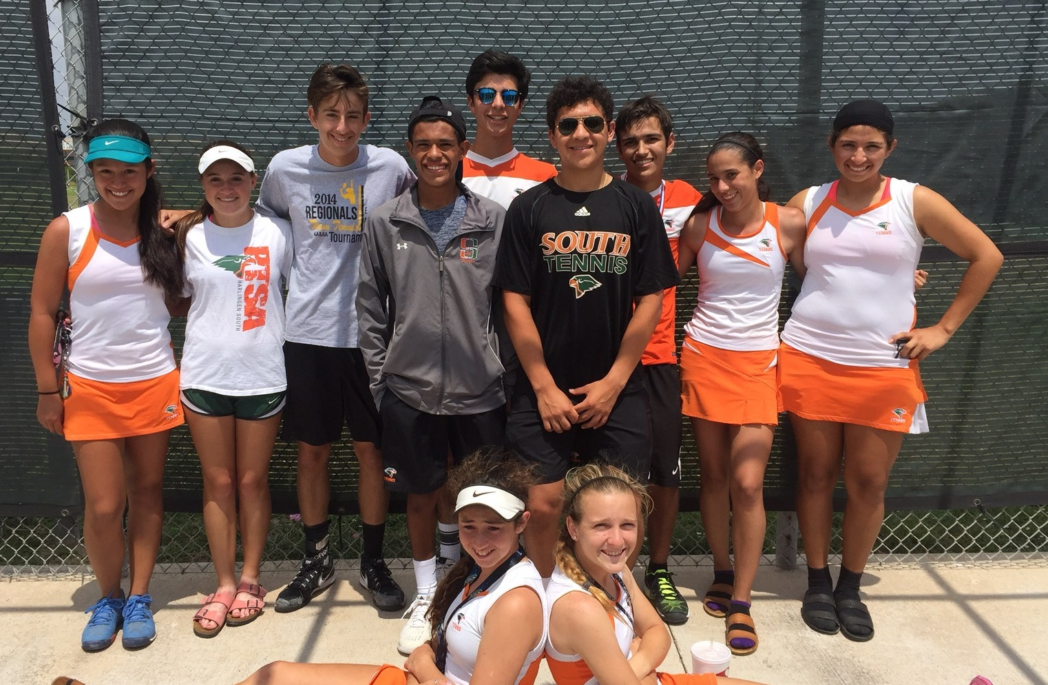 Harlingen South Tennis team advances to regional tournament