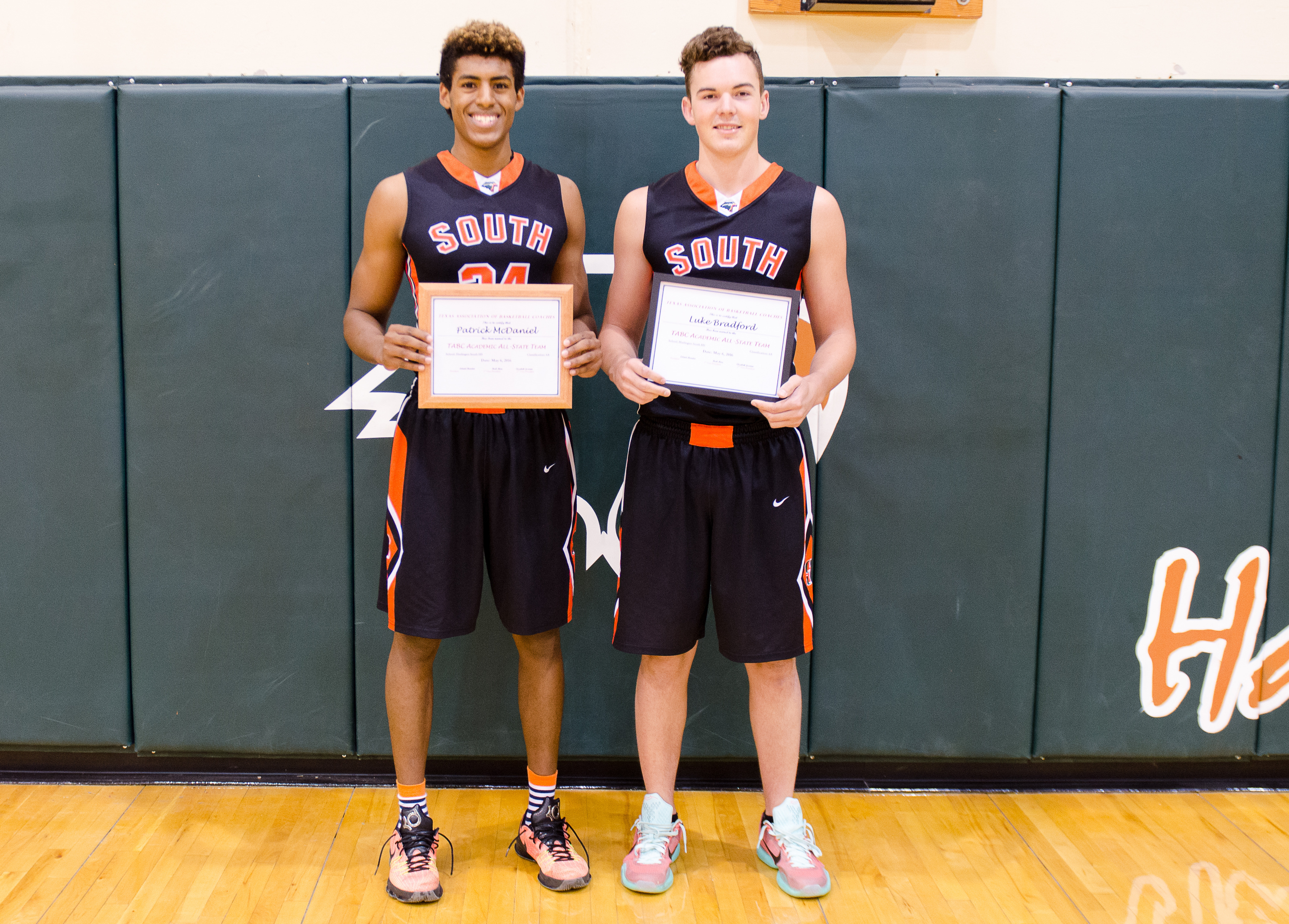 South Basketball athletes named to TABC Academic All-State Team