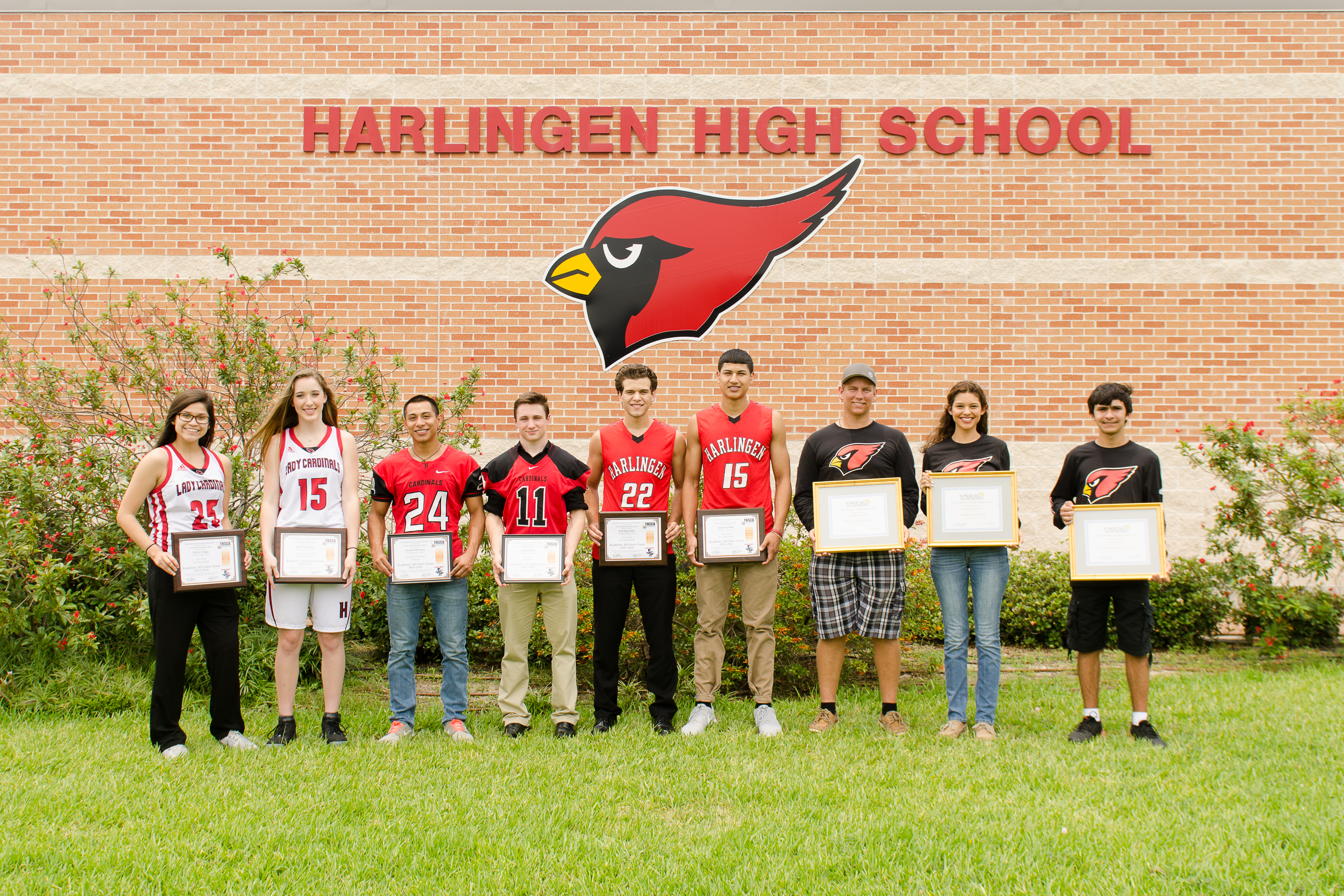 Cardinals awarded for academic and athletic success