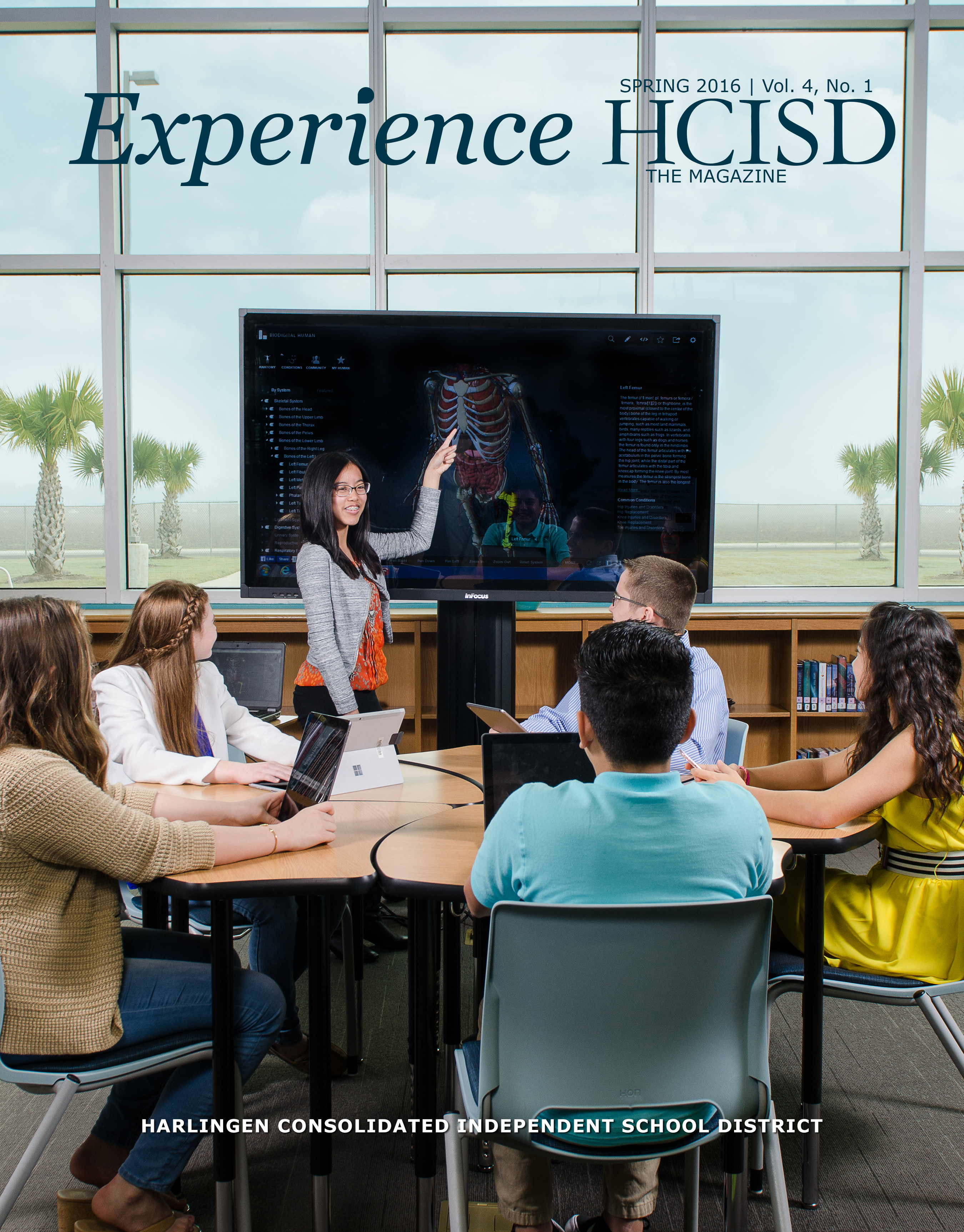 HCISD releases issue 6 of Experience HCISD The Magazine
