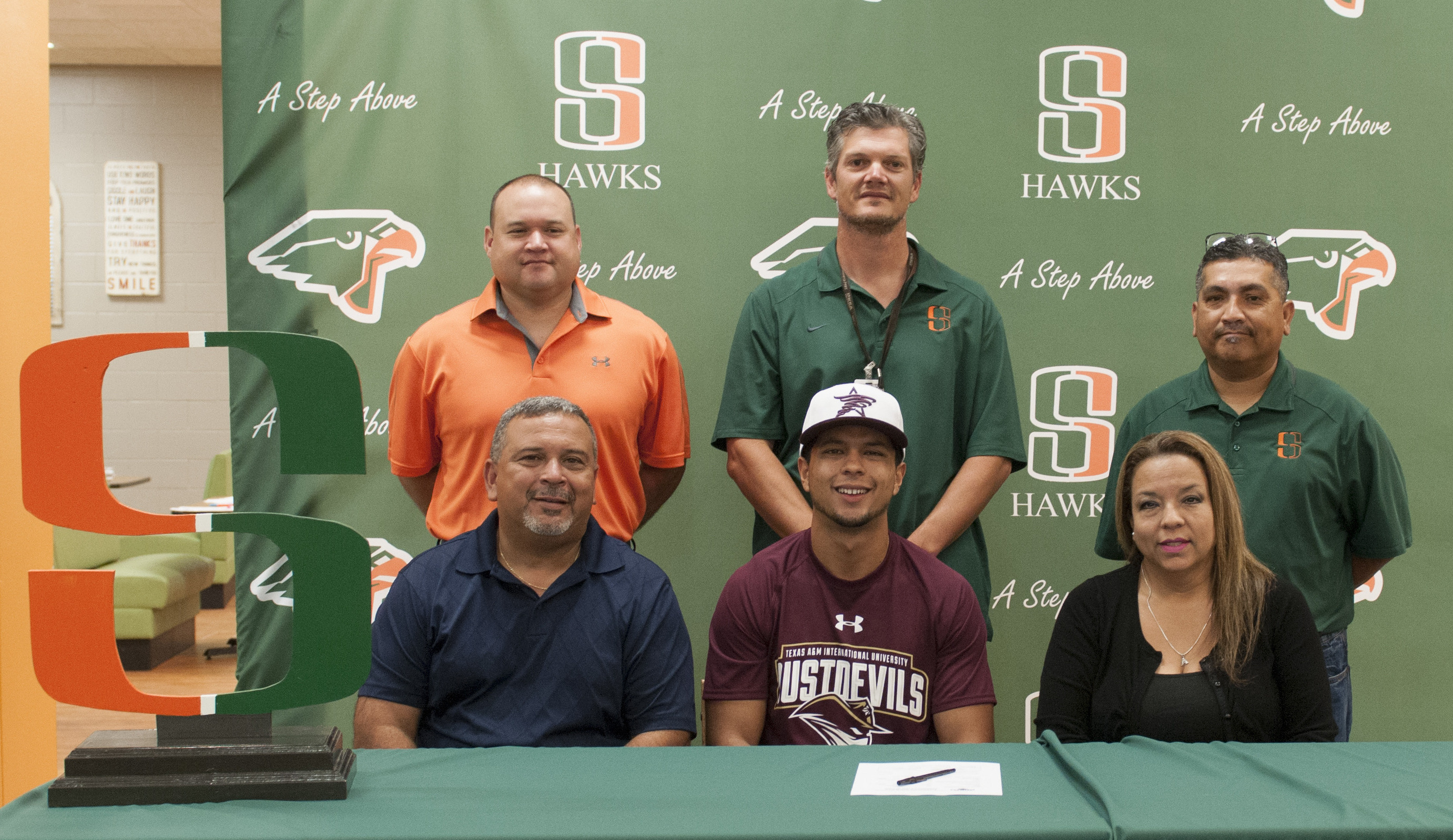 Hawk athlete signs to play college baseball