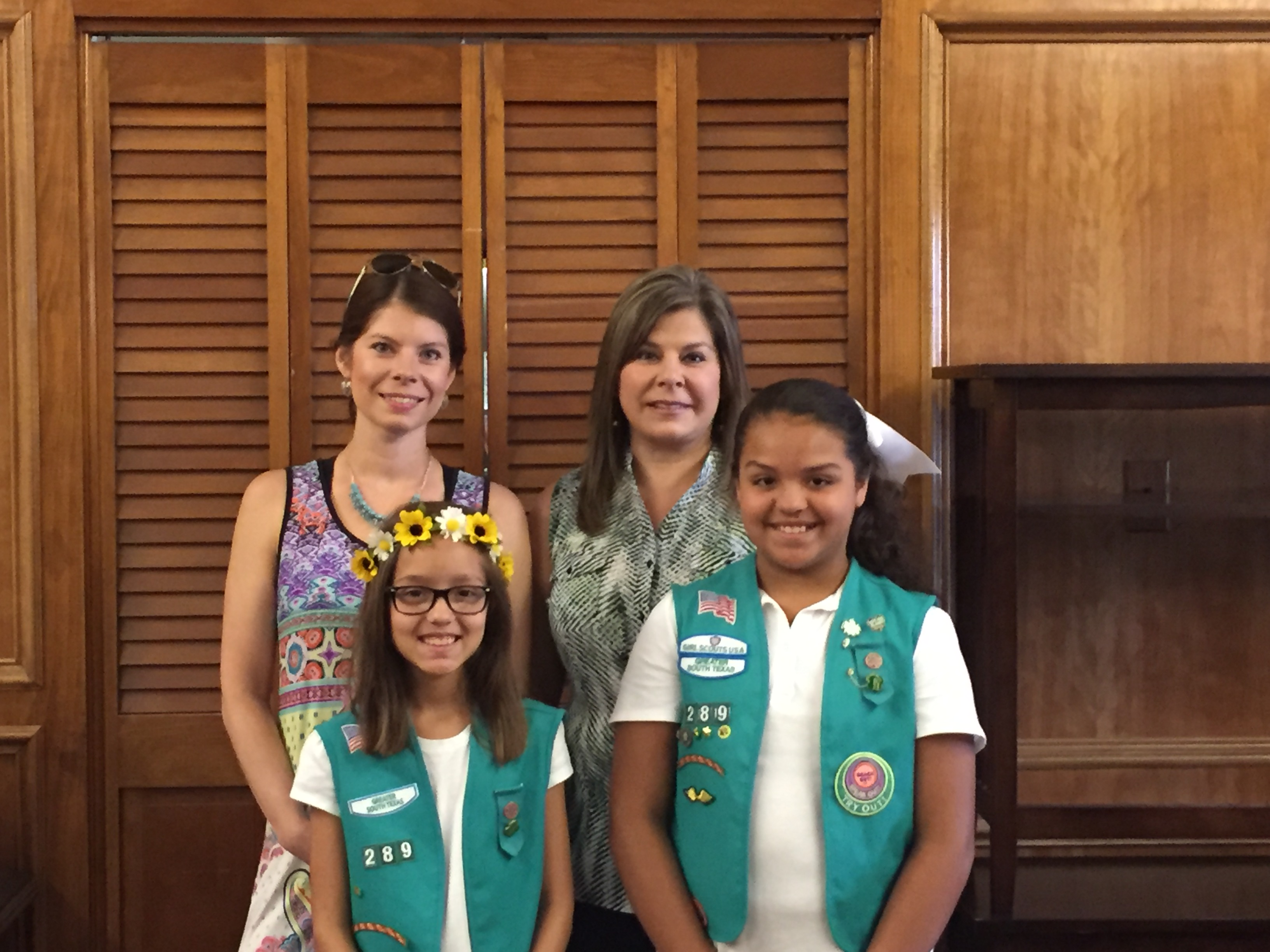 HCISD Girls Scouts collect supplies for emergency children's shelter