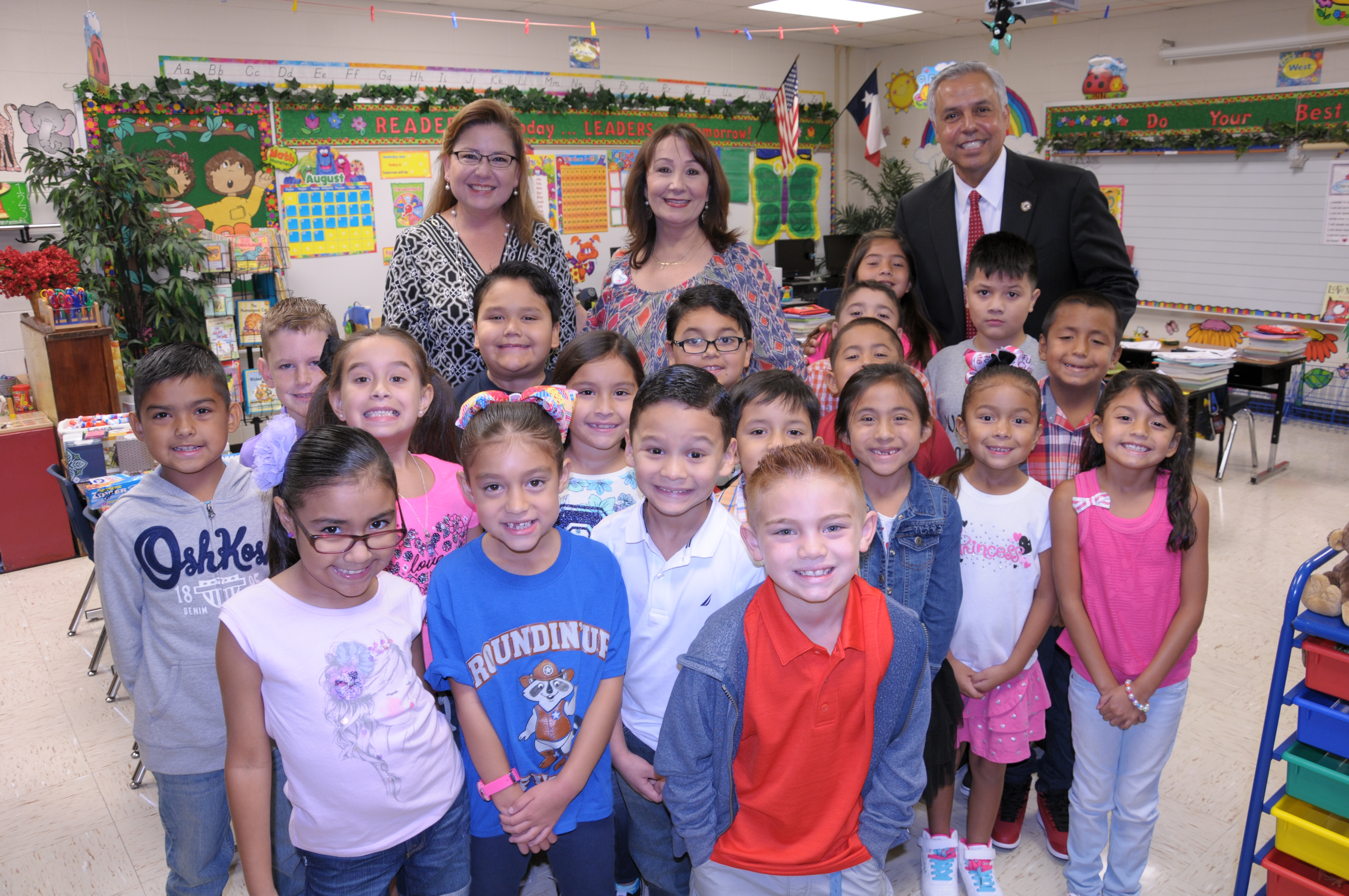 HCISD welcomes students to the 2016-2017 school year