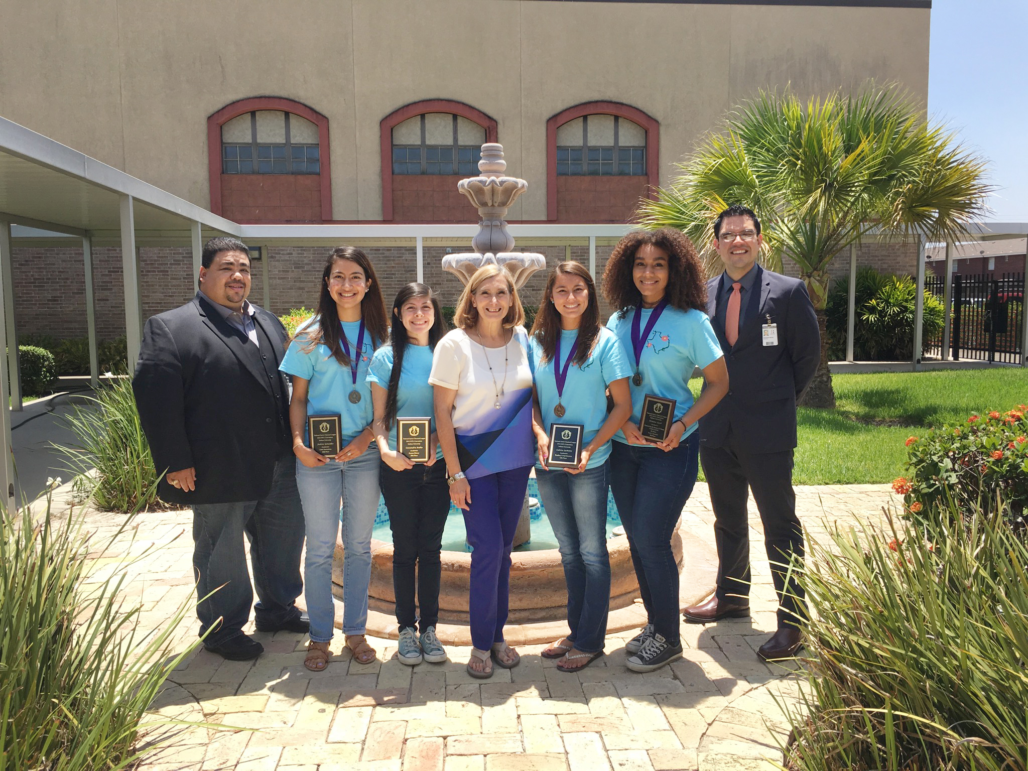 Harlingen South Latin Club excels at national convention