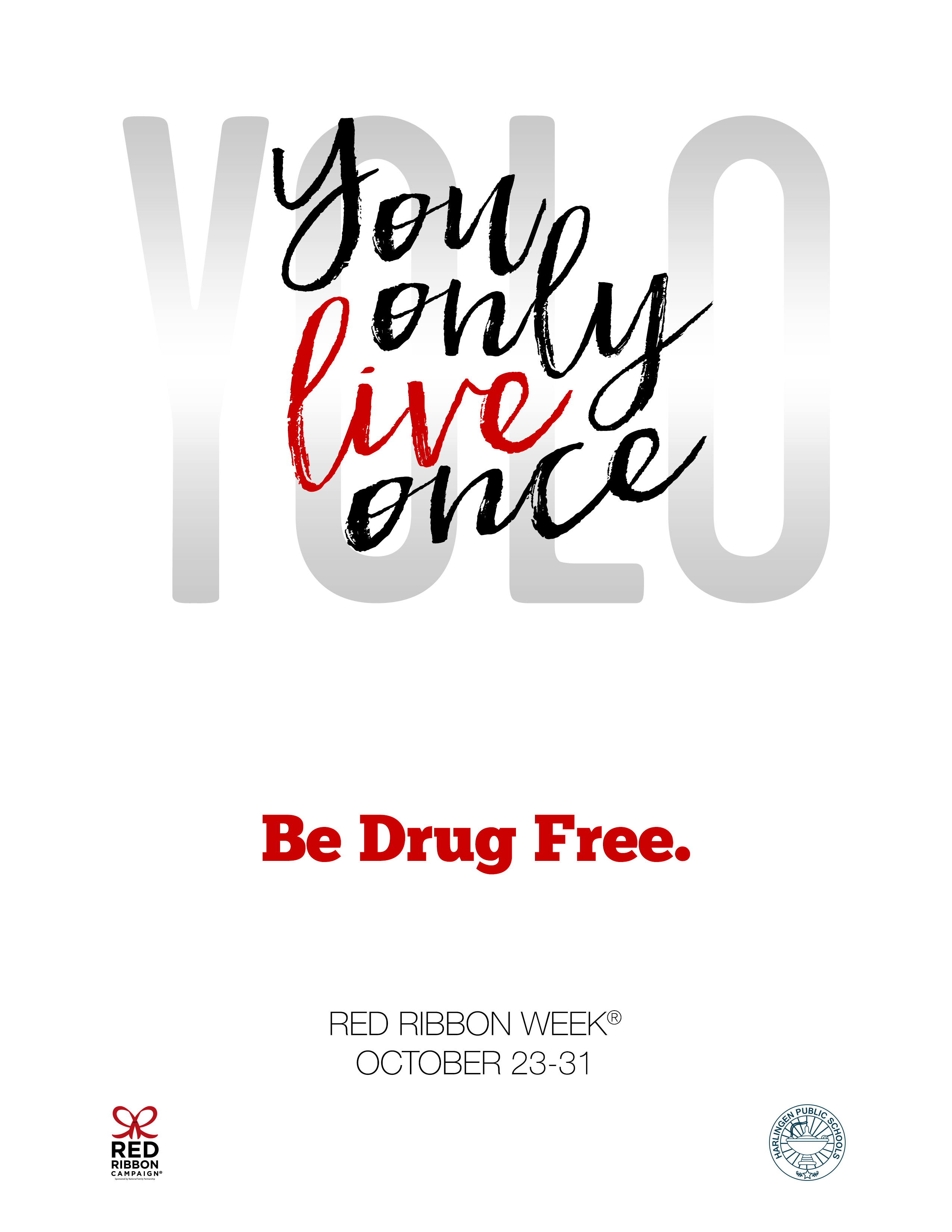 2016 Red Ribbon Week Events