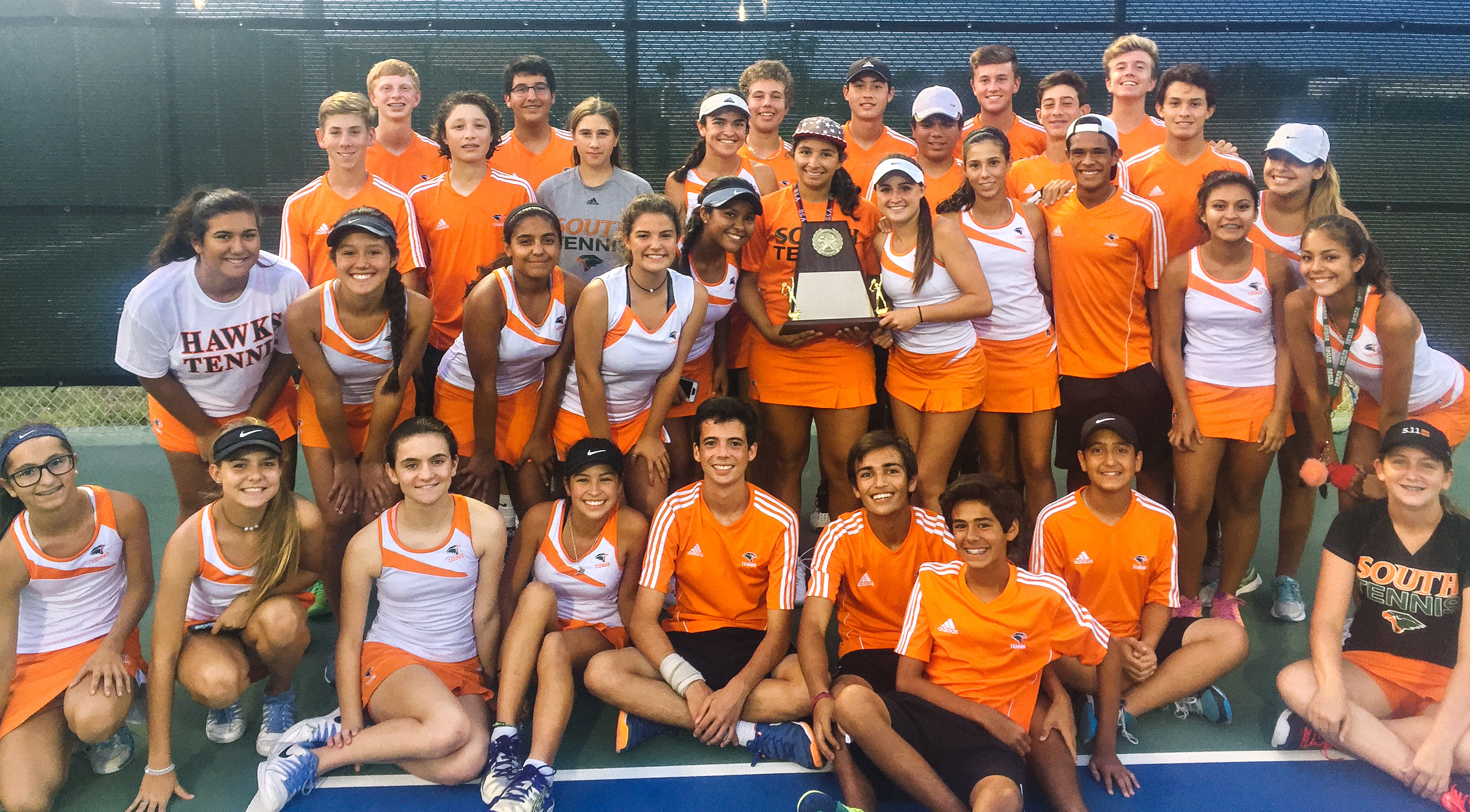 Harlingen South Tennis Team named Area Champions, HS Teams advance to Regionals