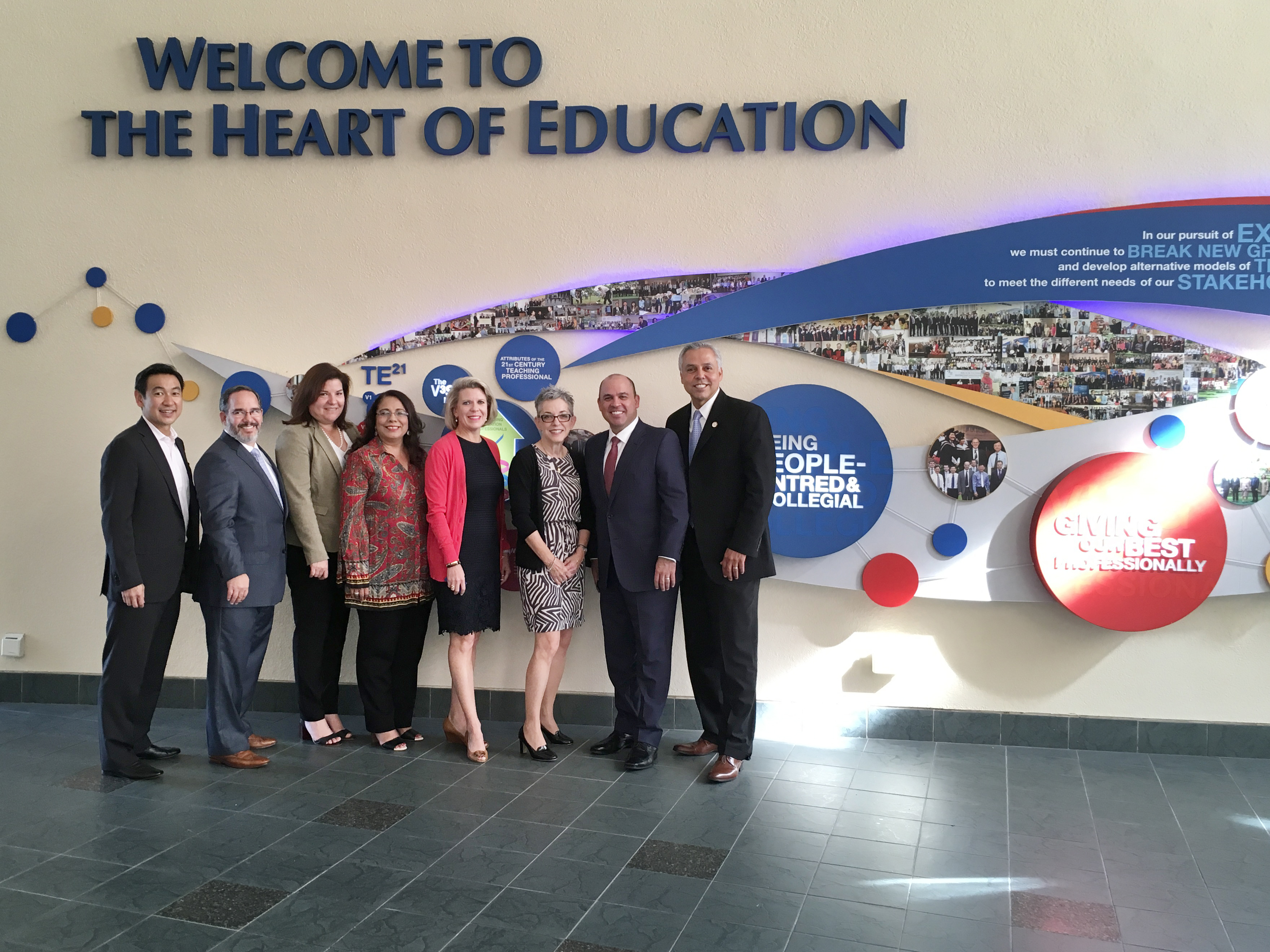 HCISD leaders explore new opportunities for innovation during educational tour to Singapore