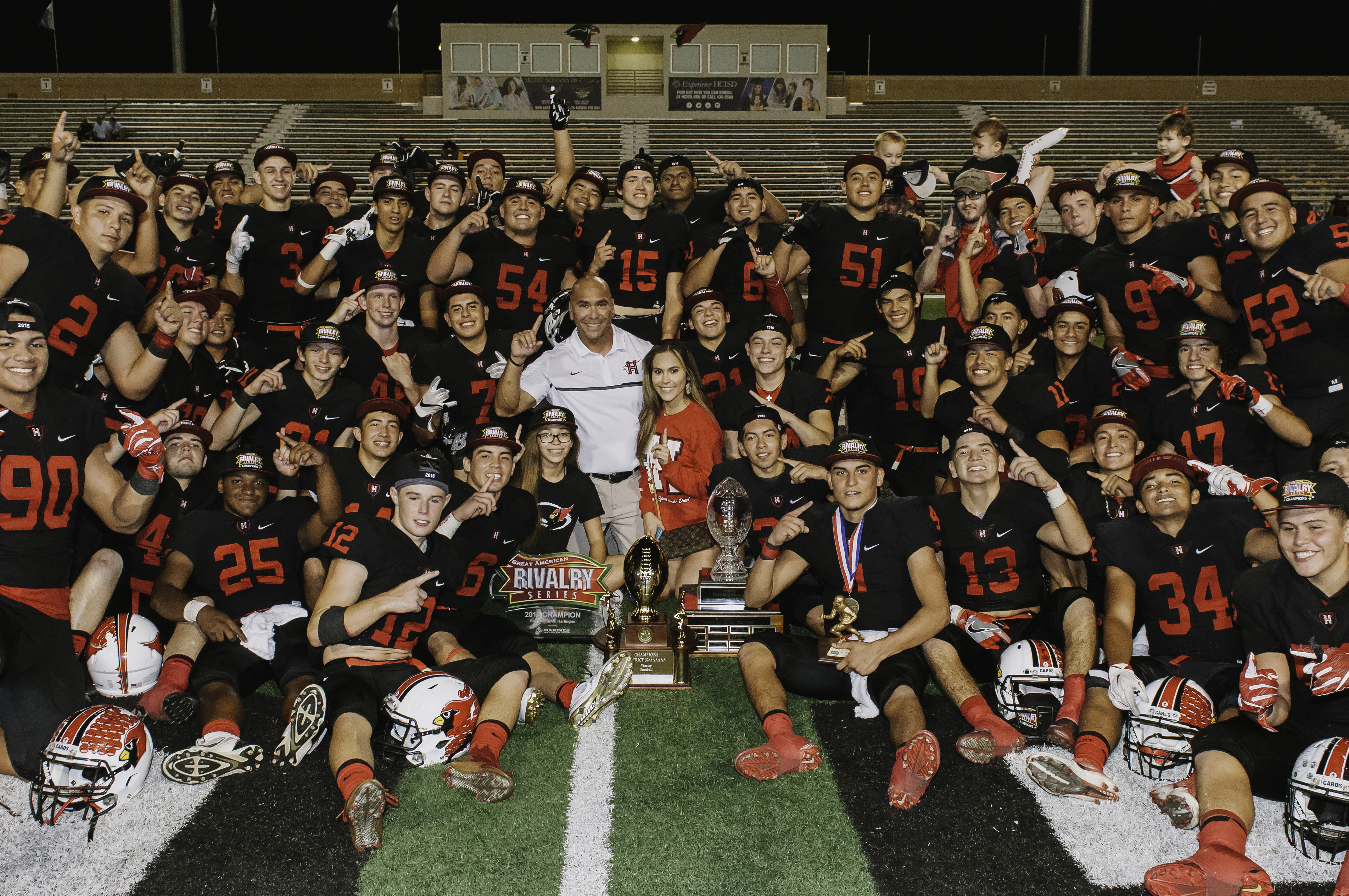 Harlingen Cardinals named District Champions after 87th Battle of the Arroyo win