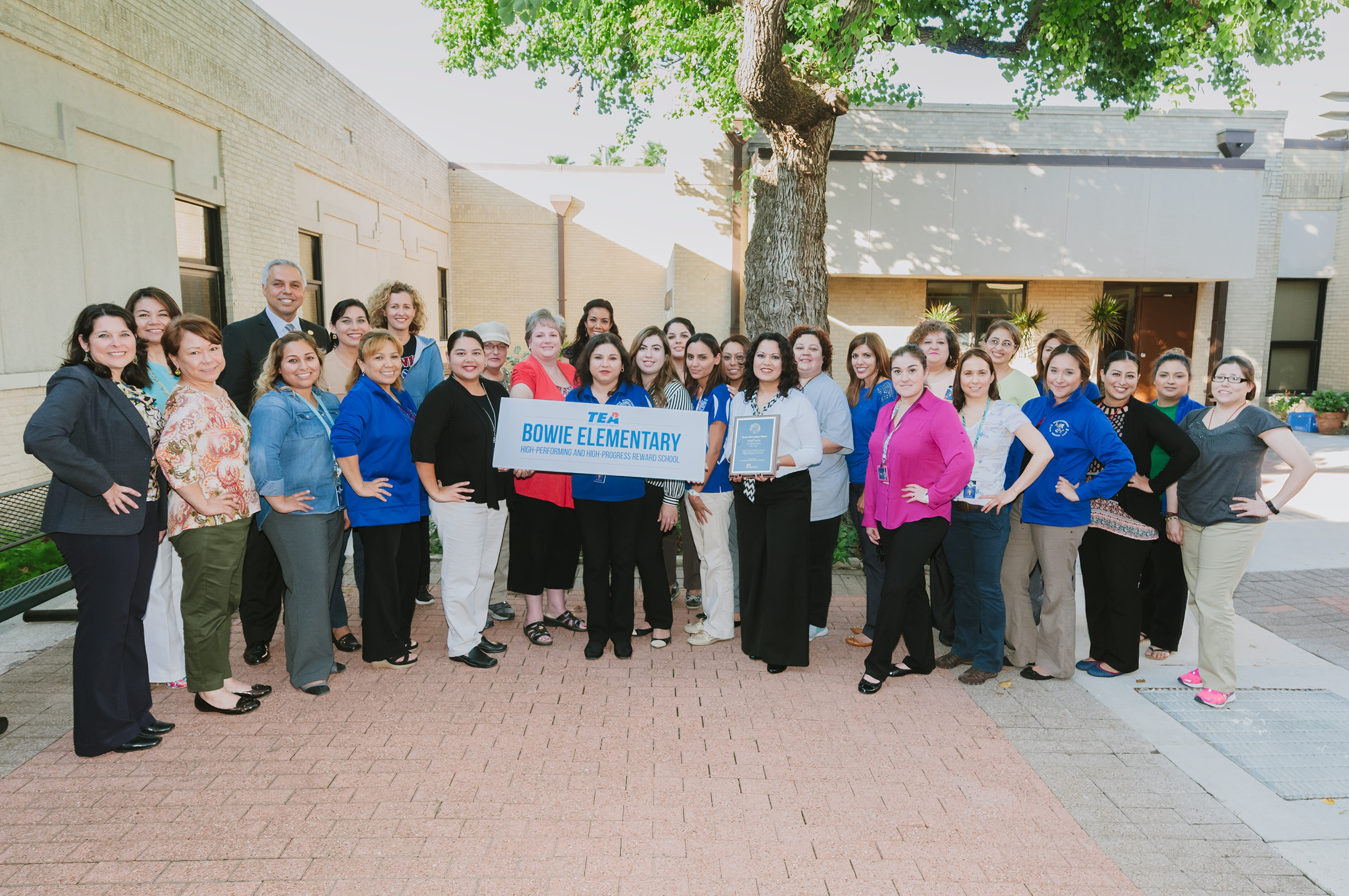 TEA names Bowie Elementary as a High-Performing and High-Progress Reward School